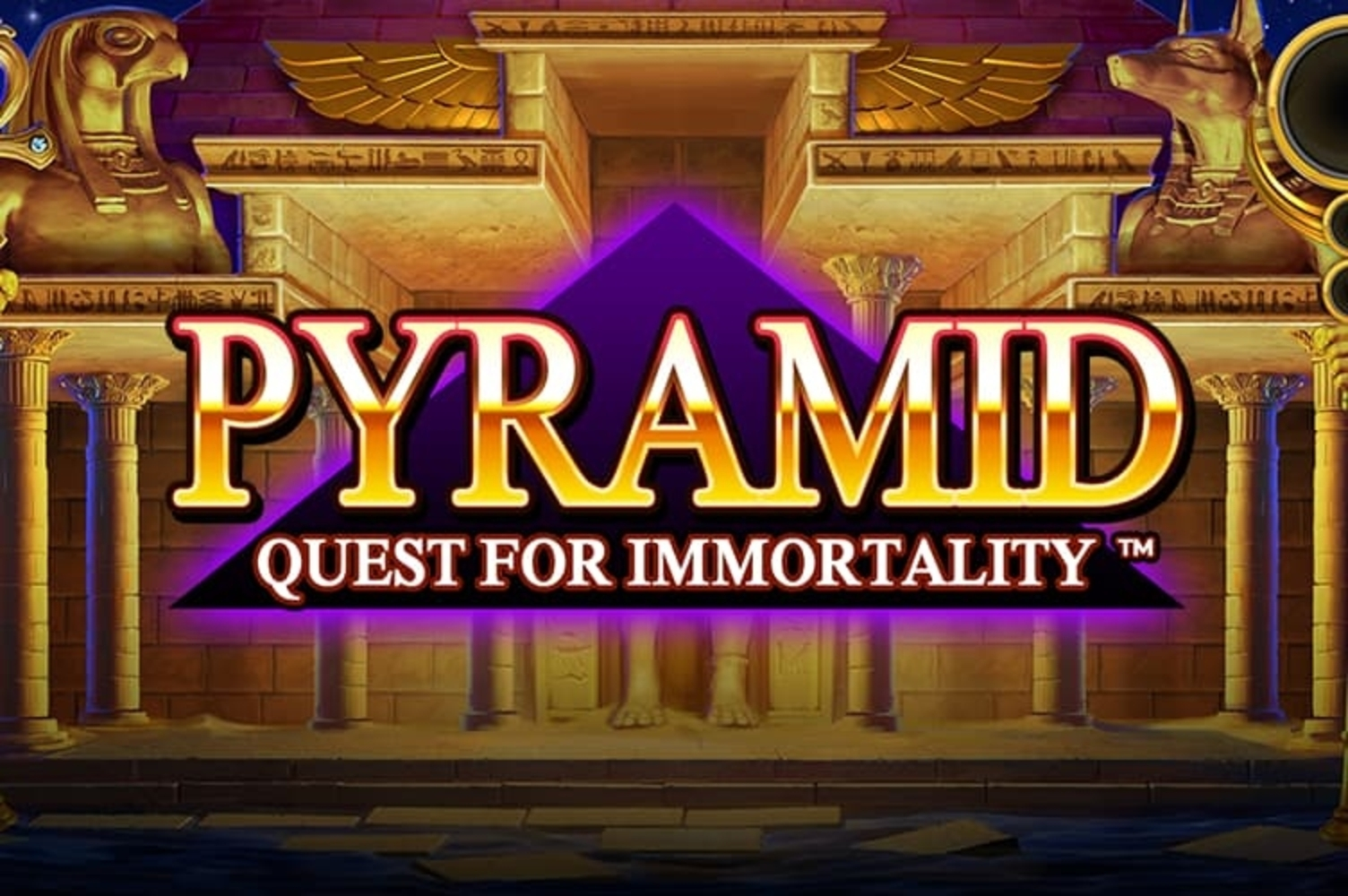 Pyramid: Quest for Immortality Online Slot Demo Game by NetEnt