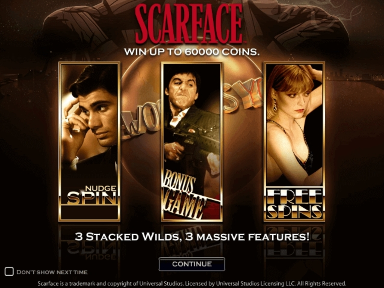 Scarface Online Slot Demo Game by NetEnt
