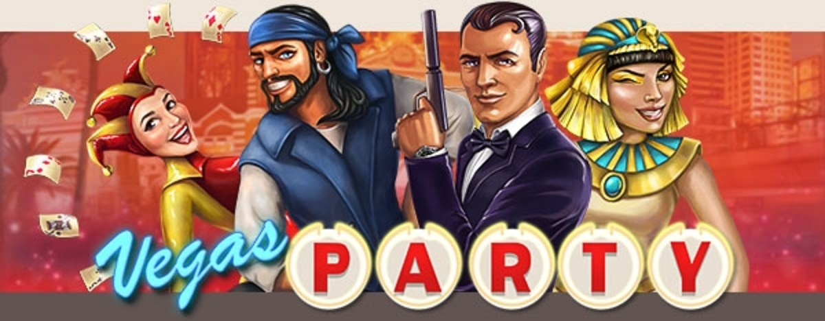 Vegas Party Online Slot Demo Game by NetEnt