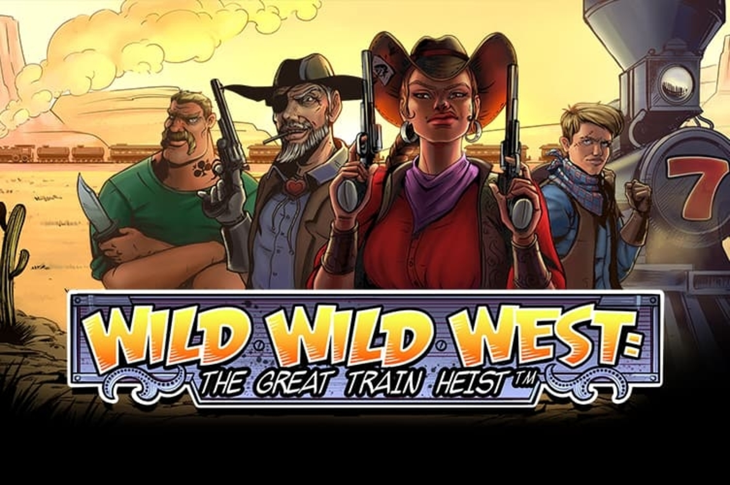 The Wild Wild West Online Slot Demo Game by NetEnt