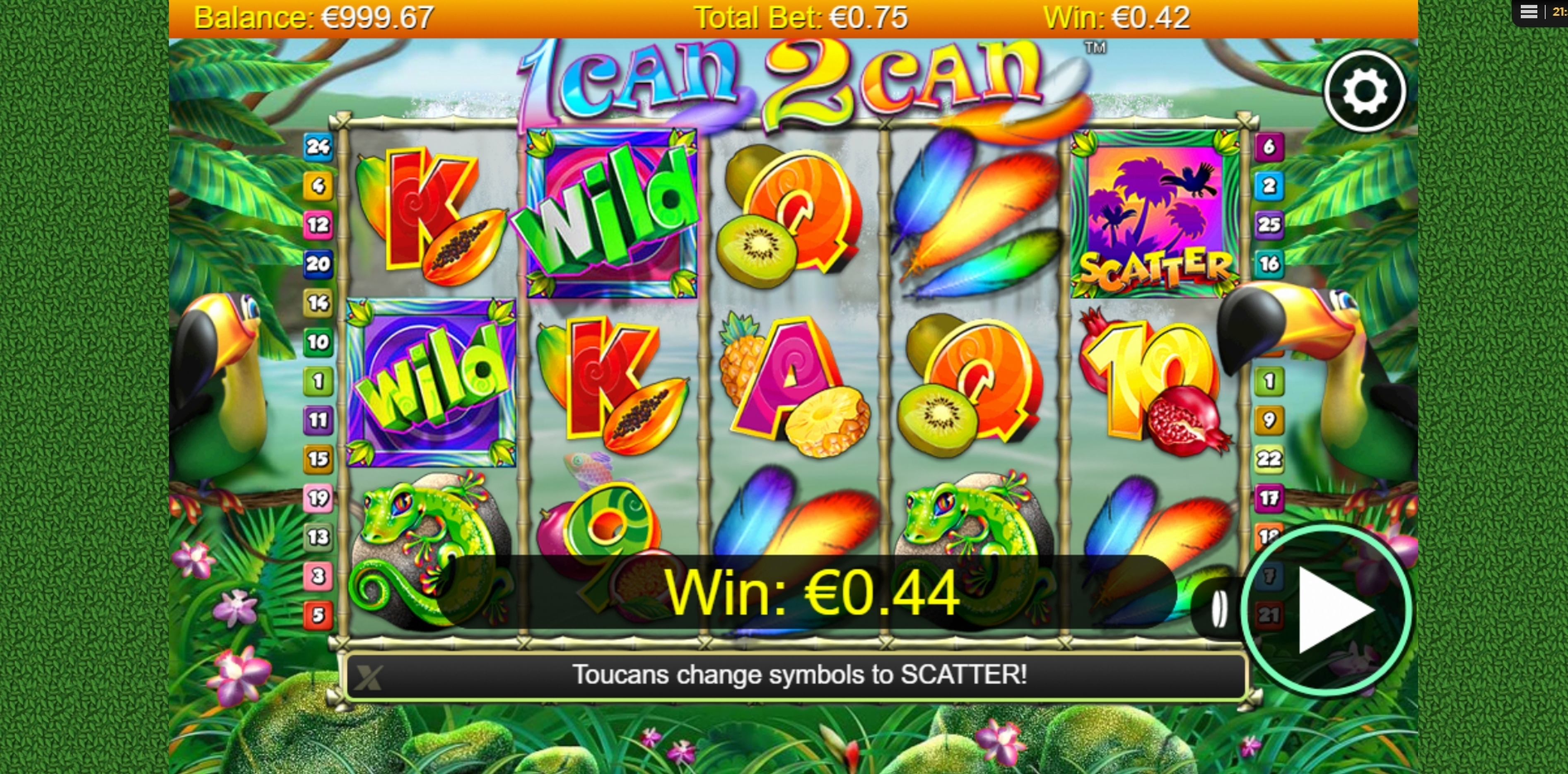 1 can 2 can nextgen gaming slot game games reviews latest]