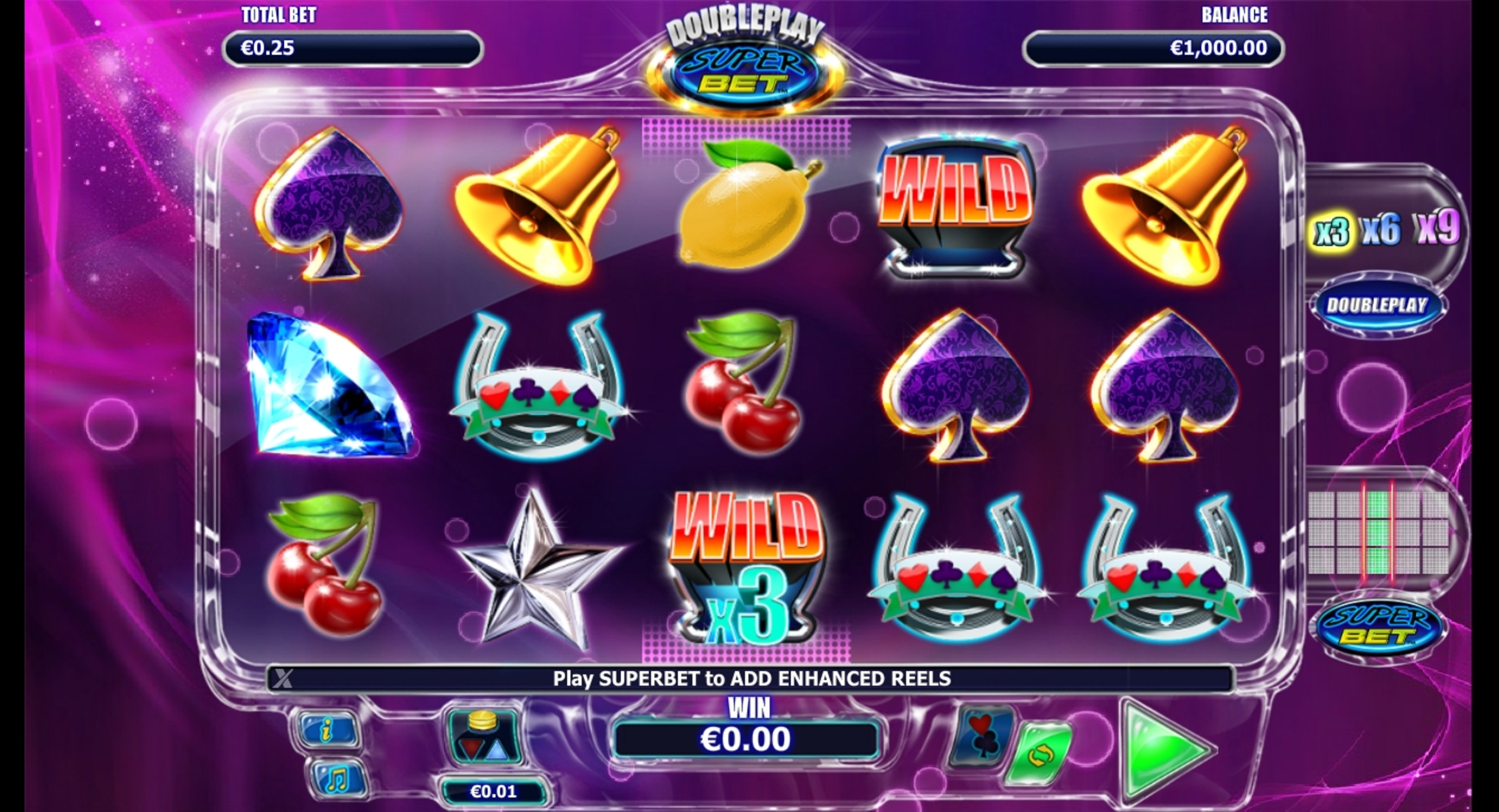 Play No Download Double Play SuperBet Slot Machine Free