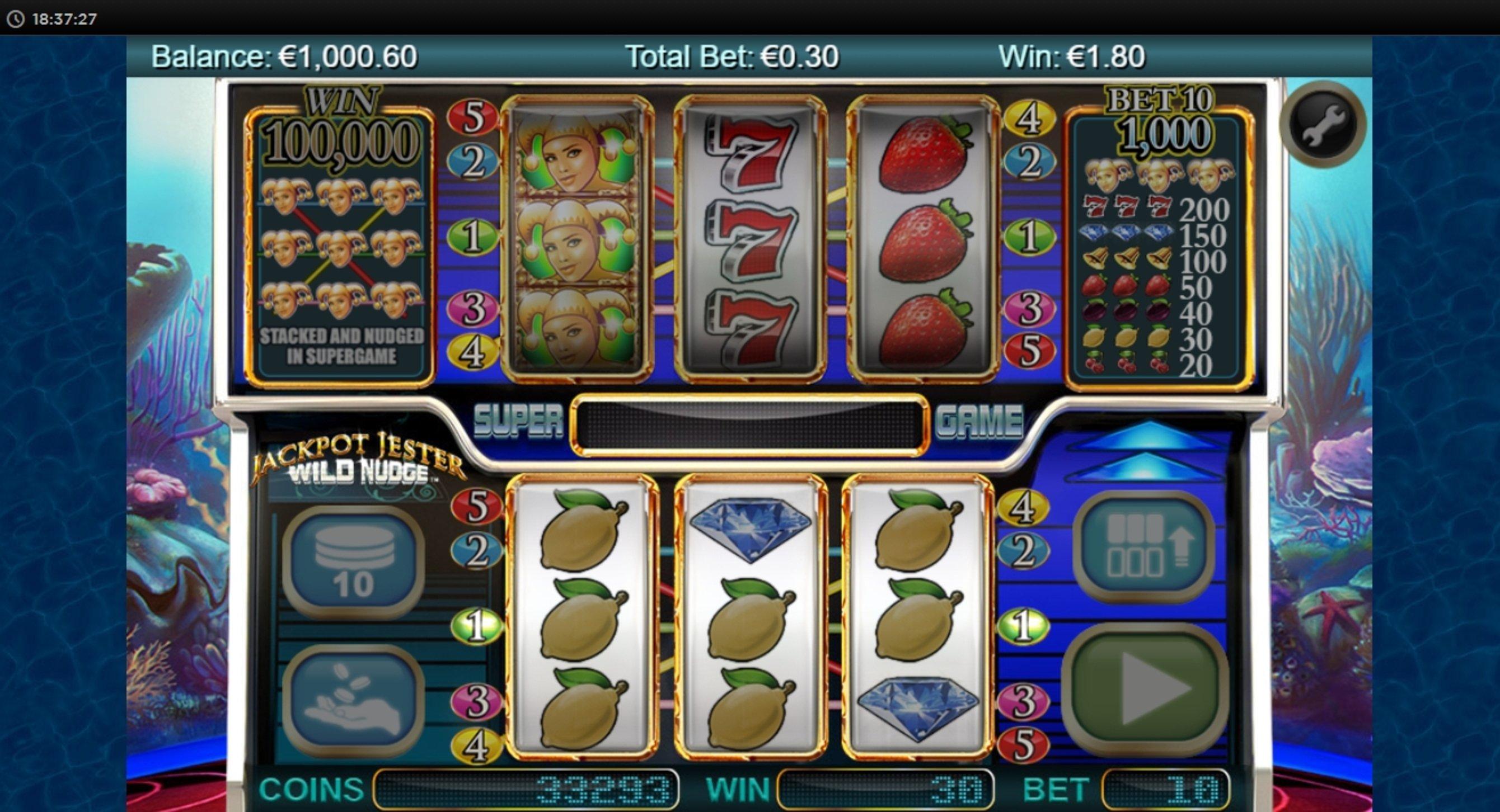 Wild Jester Slot Machine
