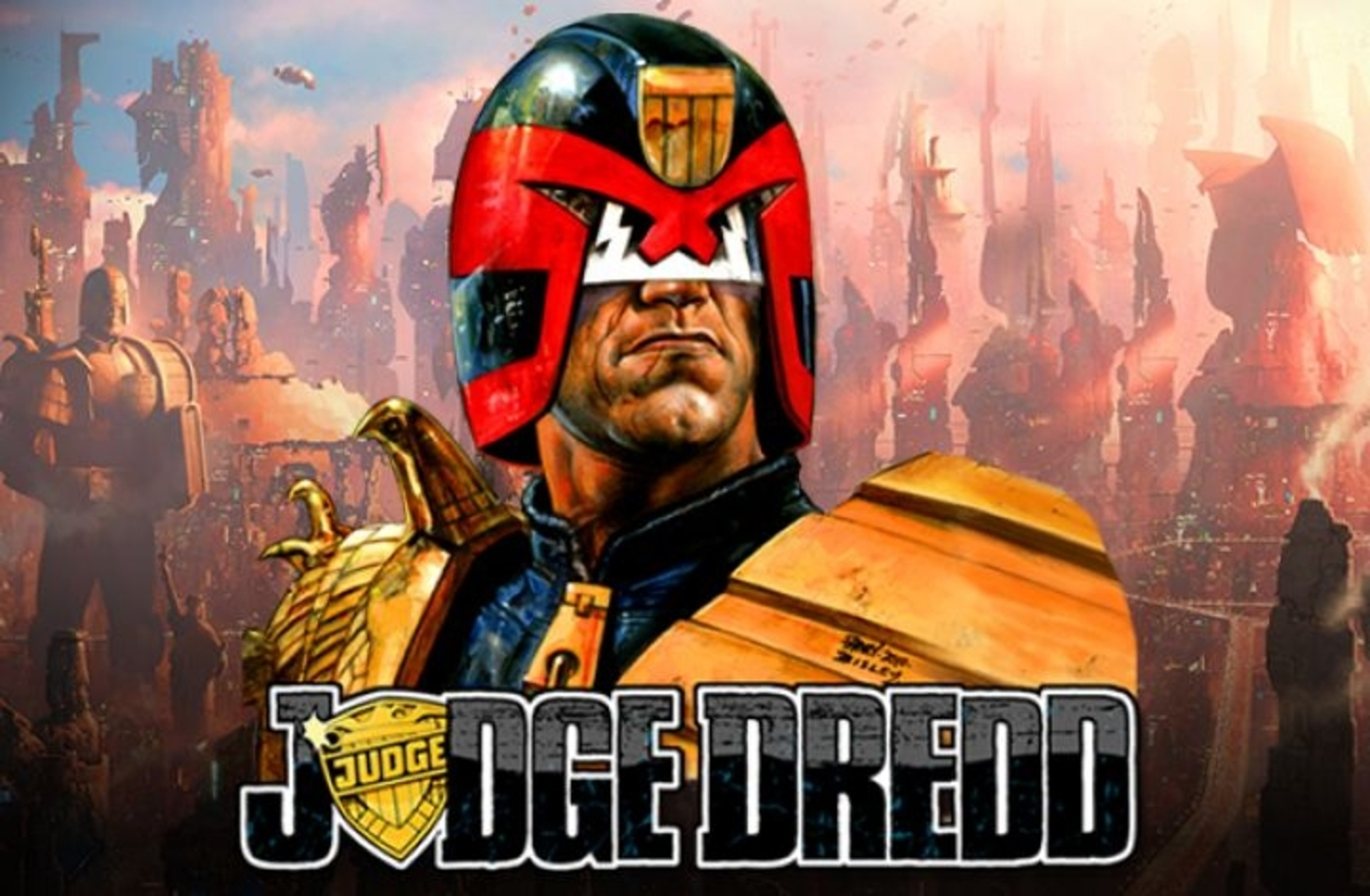 Judge Dredd Online Slot Demo Game by NextGen Gaming