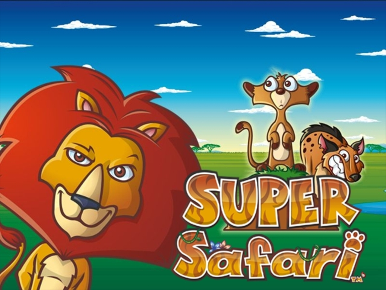The Super Safari Online Slot Demo Game by NextGen
