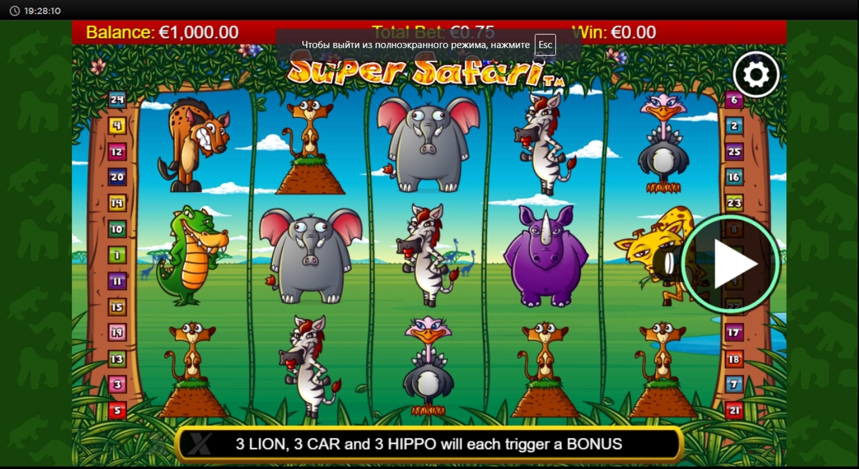Super Safari Slot Machine