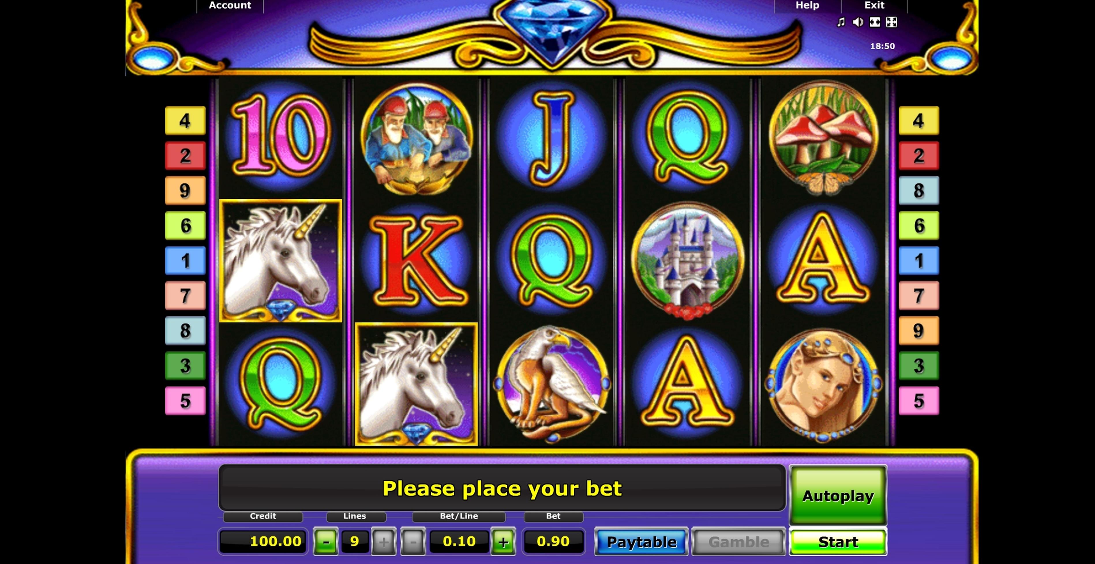 Magic Unicorn Slot Machine