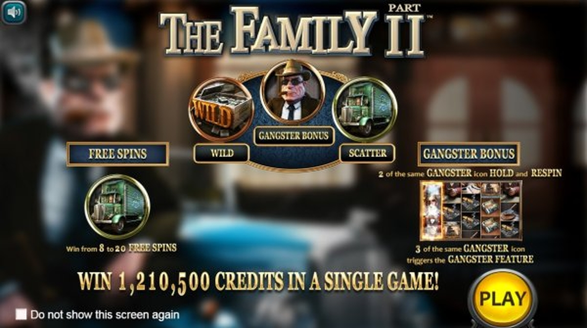 The The Family 2 Online Slot Demo Game by Nucleus Gaming