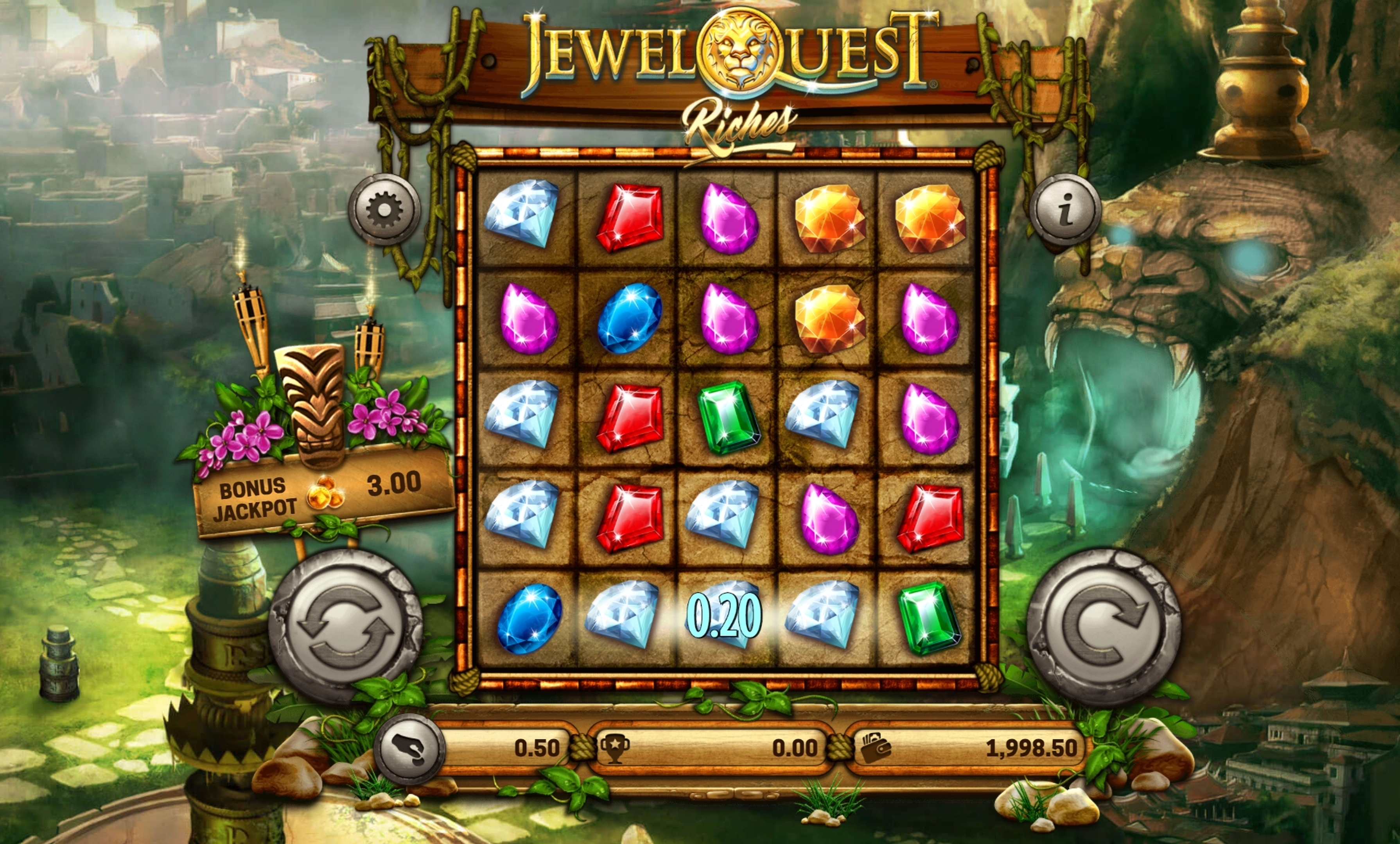 Jewel Quest Riches Slot Machine