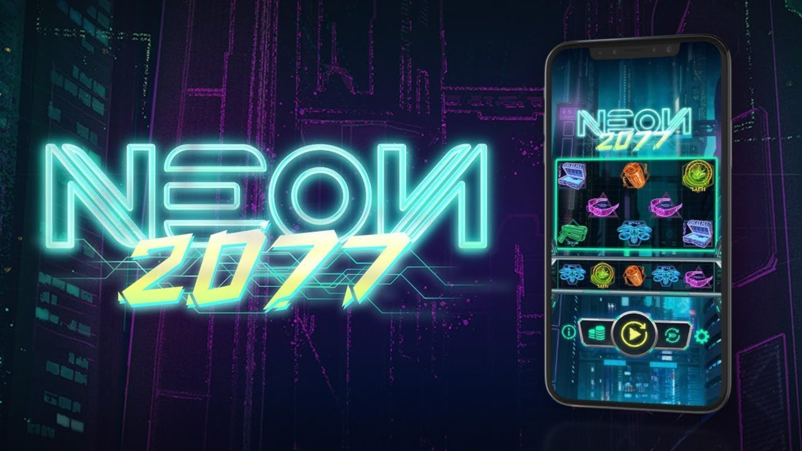 The Neon2077 Online Slot Demo Game by OneTouch