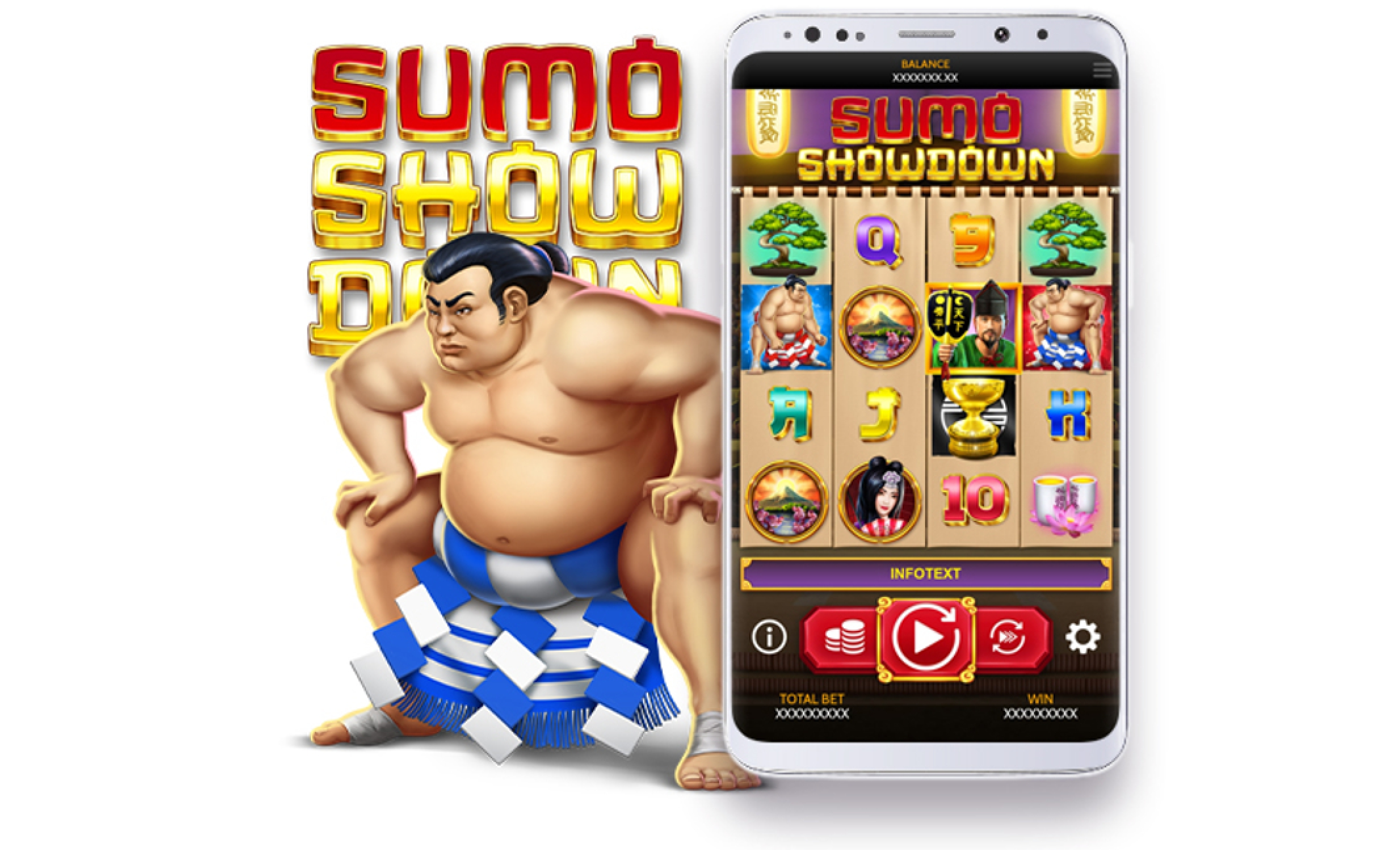 Sumo Showdown Online Slot Demo Game by OneTouch Games
