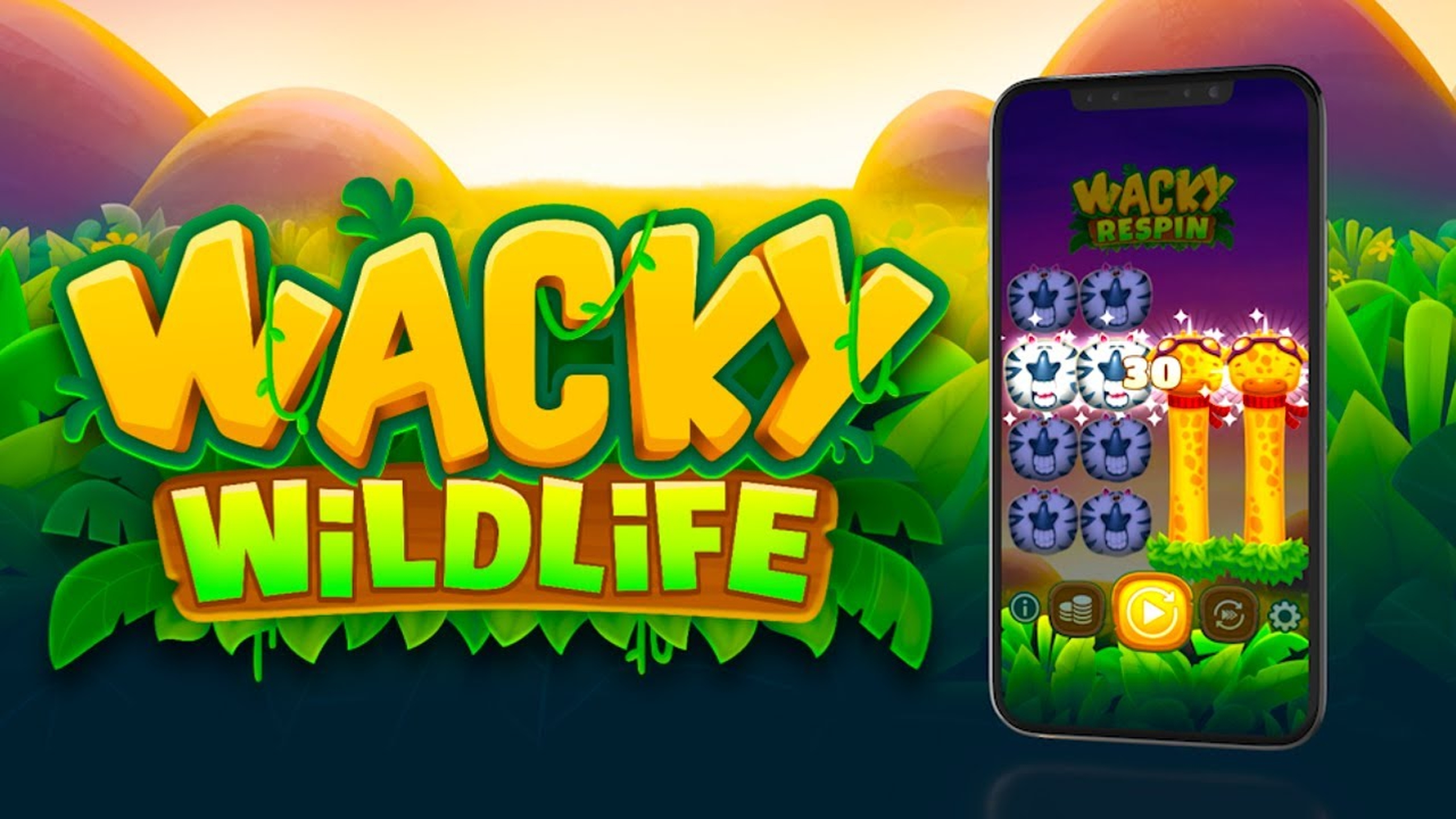 Wacky Wildlife Online Slot Demo Game by OneTouch Games
