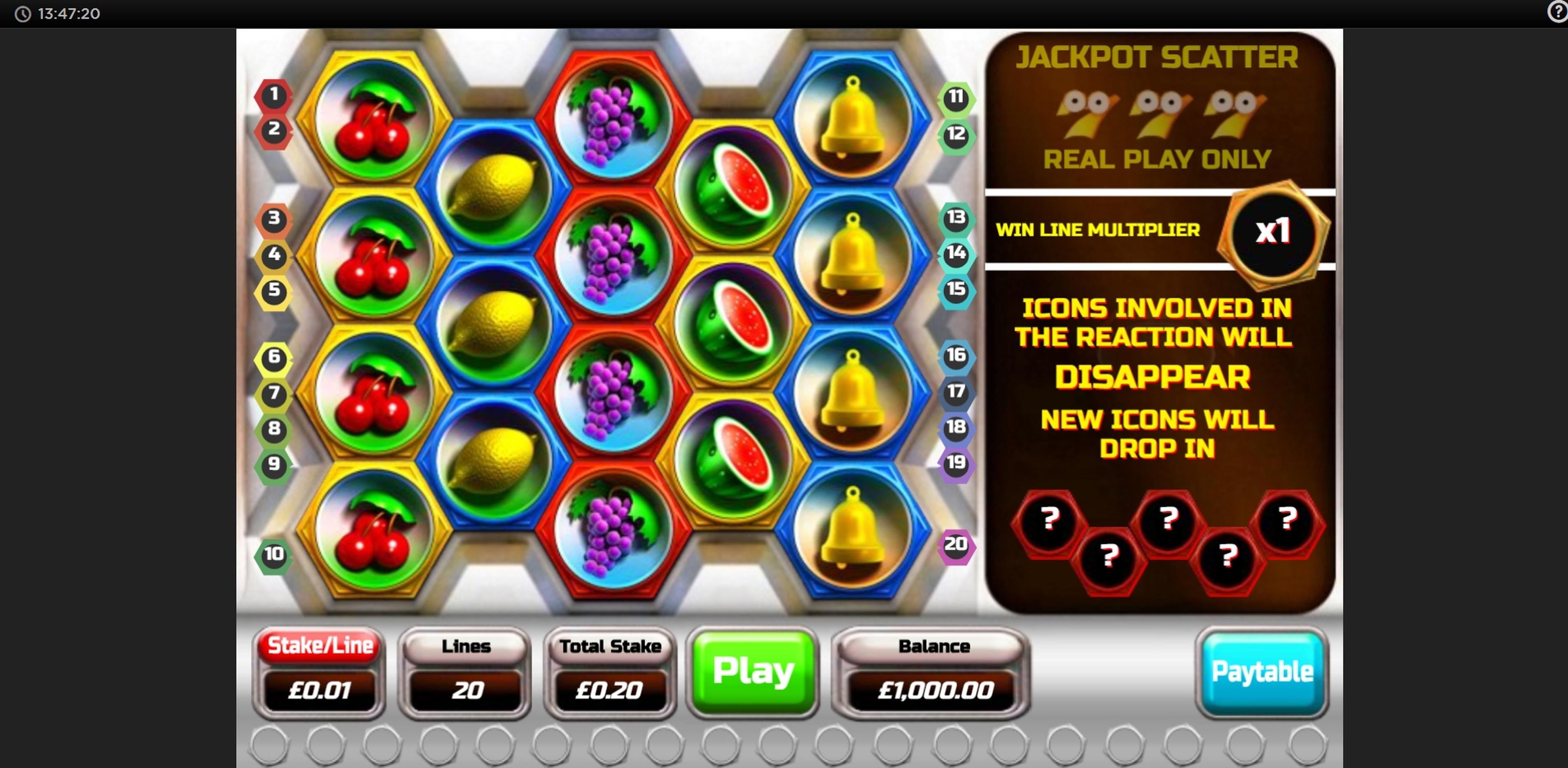 Cashdrop Slot Machine