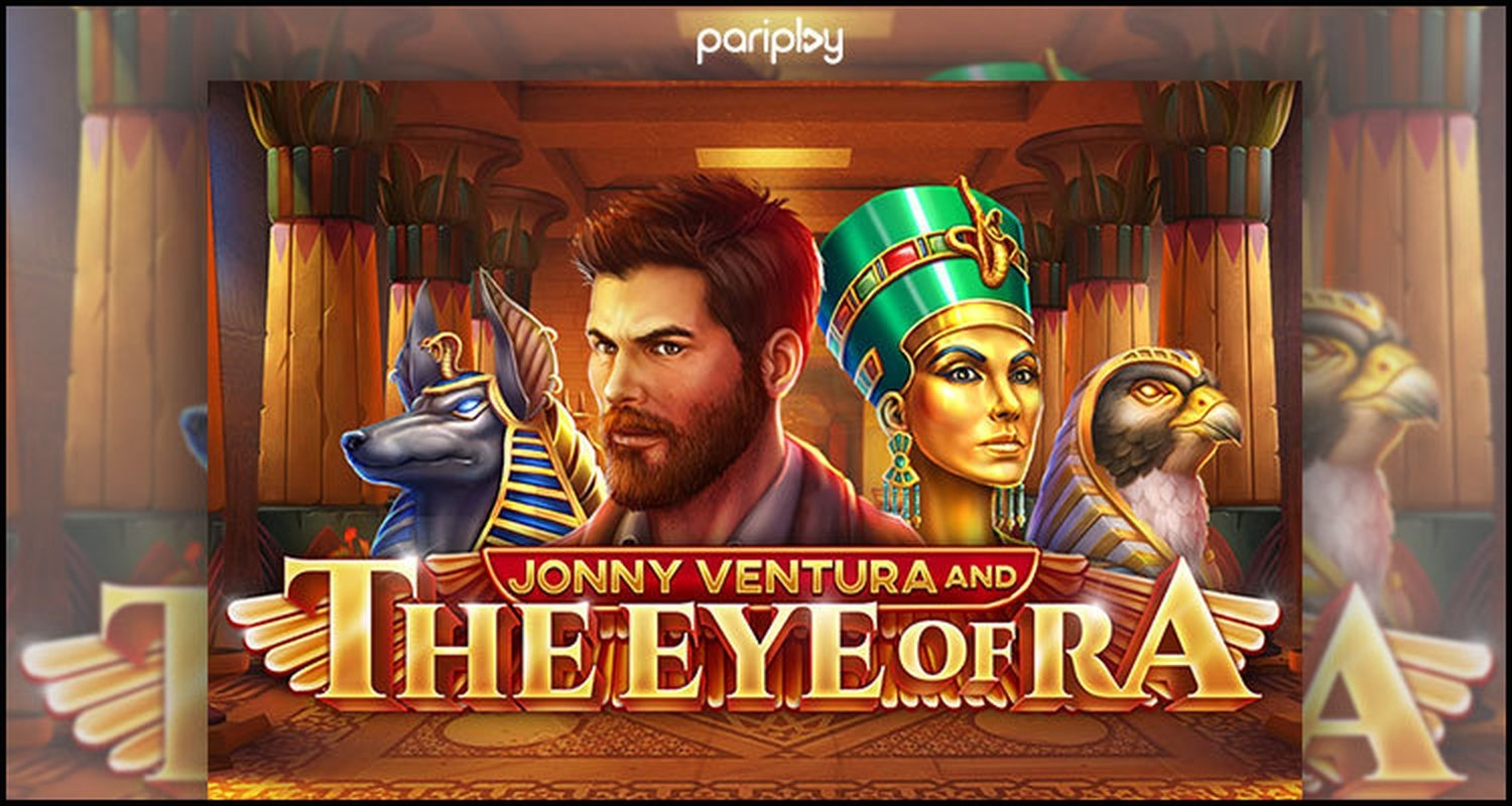 Jonny Ventura and The Eye of Ra Online Slot Demo Game by PariPlay