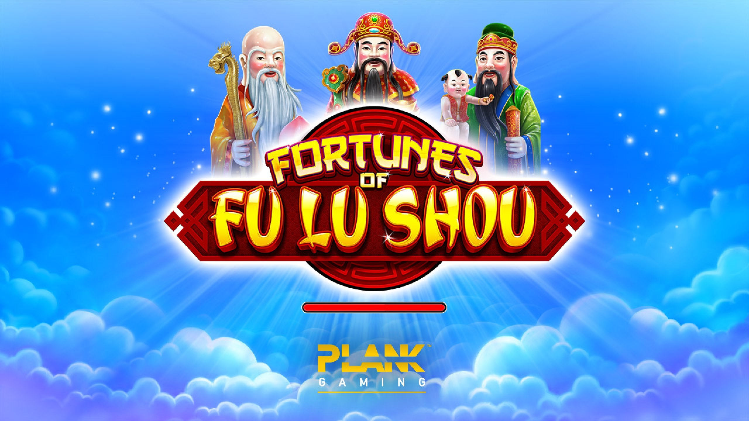 The Fortunes of Fu Lu Shou Online Slot Demo Game by Plank Gaming