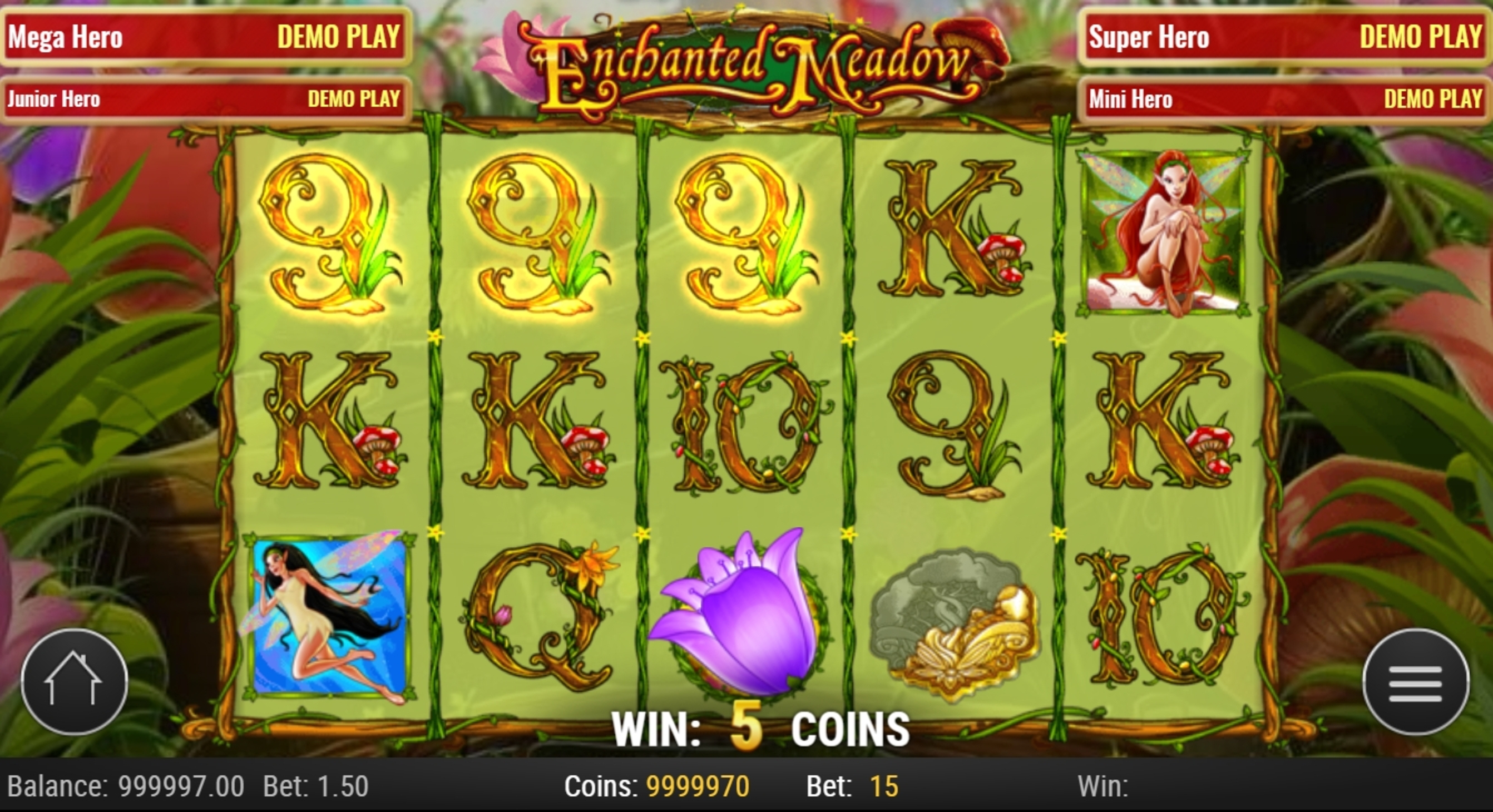 Win Money in Enchanted Meadow Free Slot Game by Playn GO