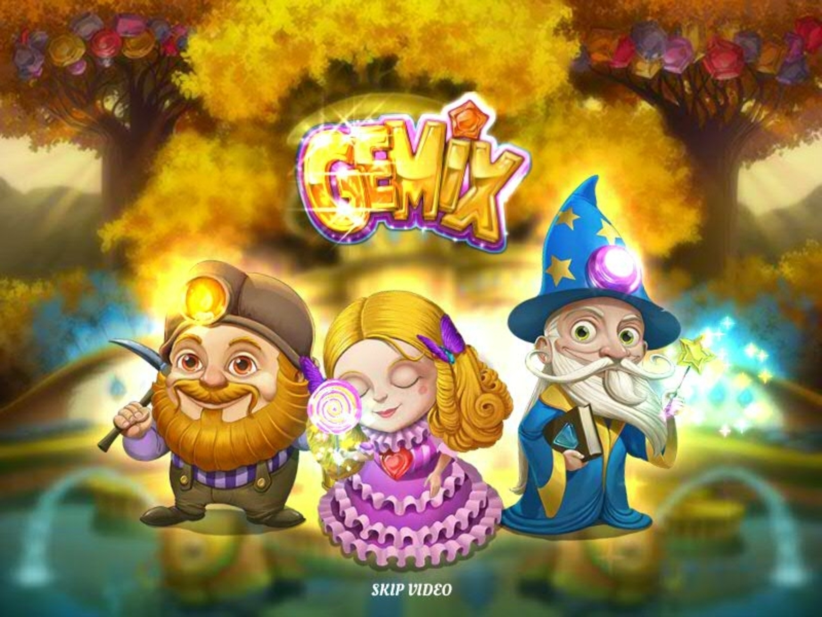 Gemix Online Slot Demo Game by Playn GO