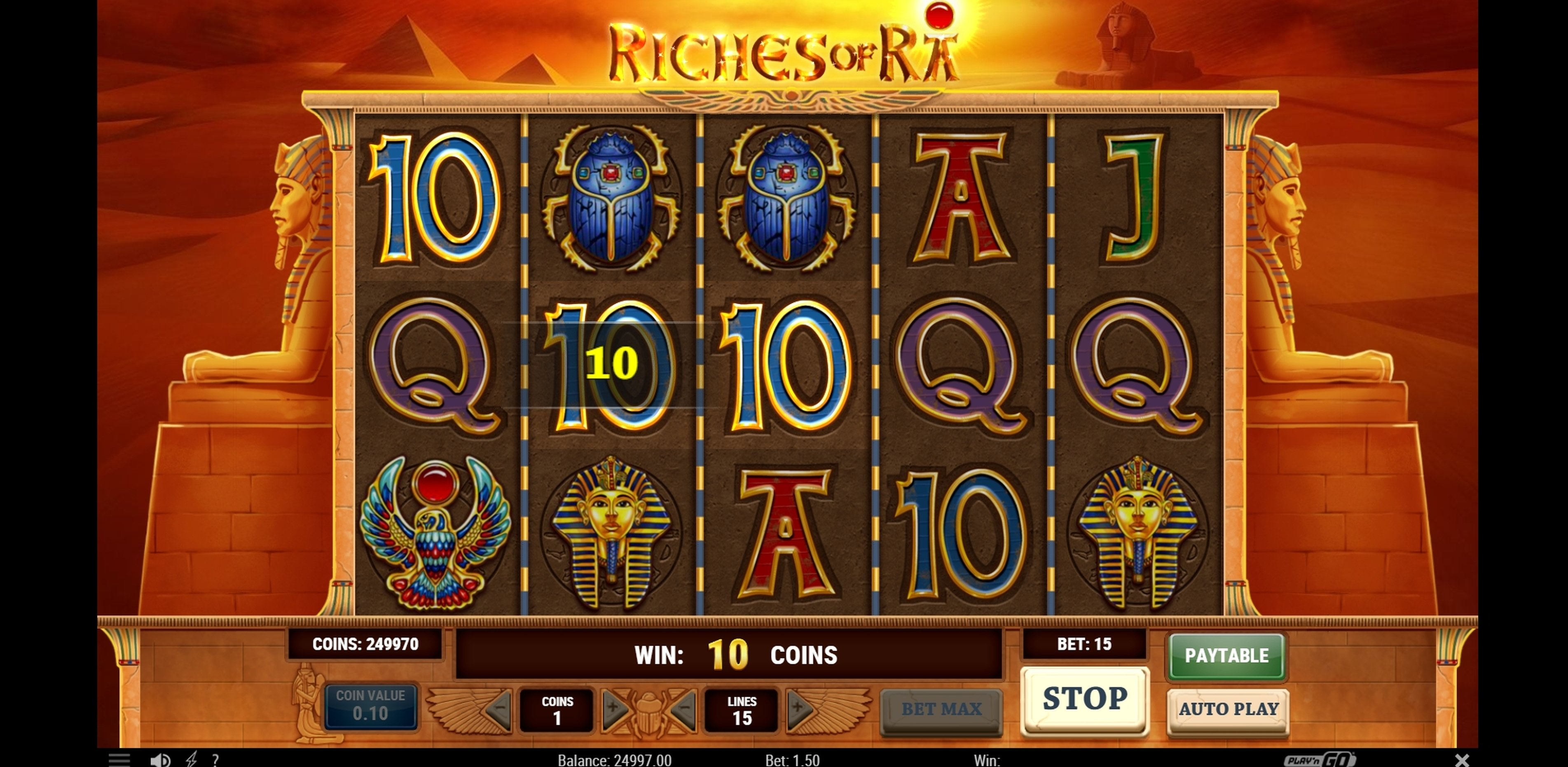 Riches of ra slot machines