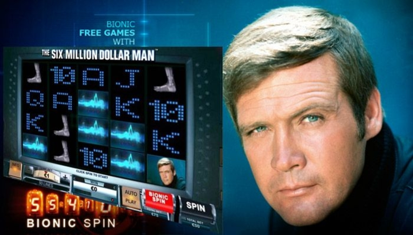 6 million Dollar Man Online Slot Demo Game by Playtech