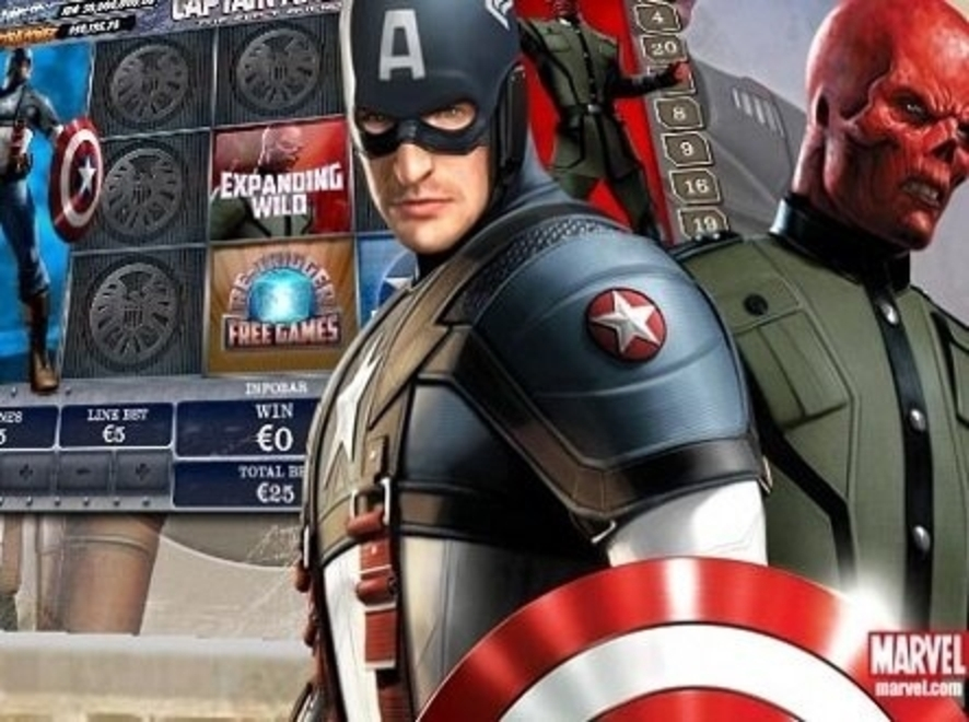 Captain America Online Slot Demo Game by Playtech