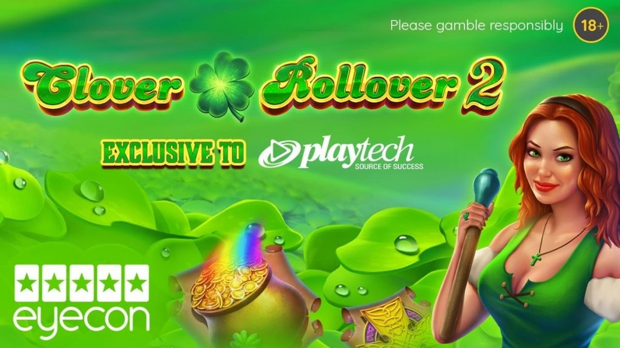The Clover Rollover Online Slot Demo Game by Playtech