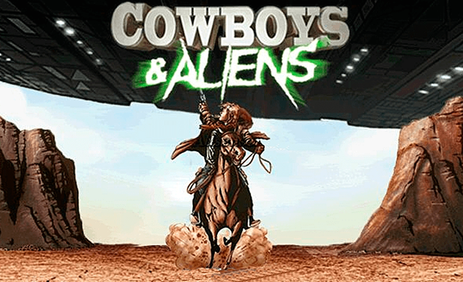 The Cowboys & Aliens Online Slot Demo Game by Playtech