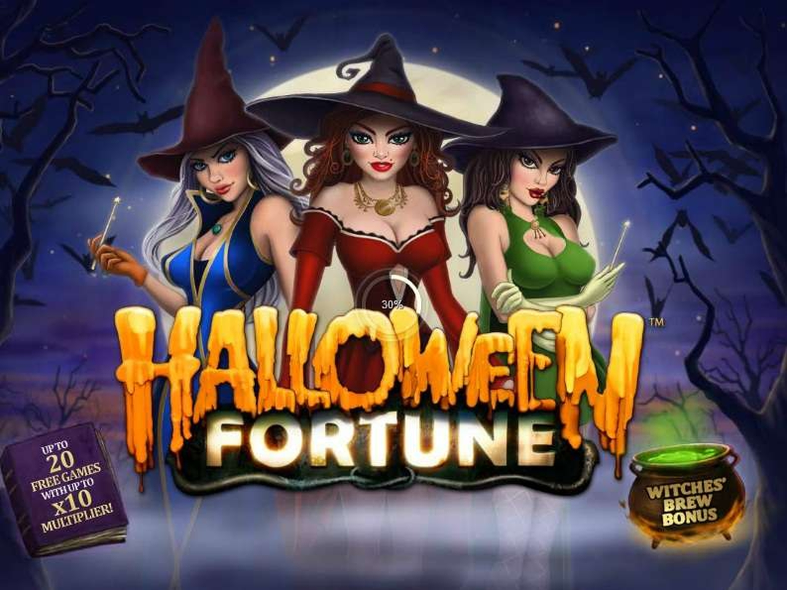 Halloween Fortune Online Slot Demo Game by Playtech