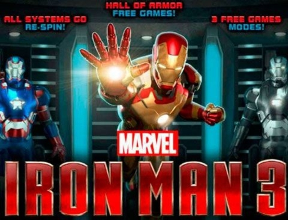 Iron Man 3 Online Slot Demo Game by Playtech