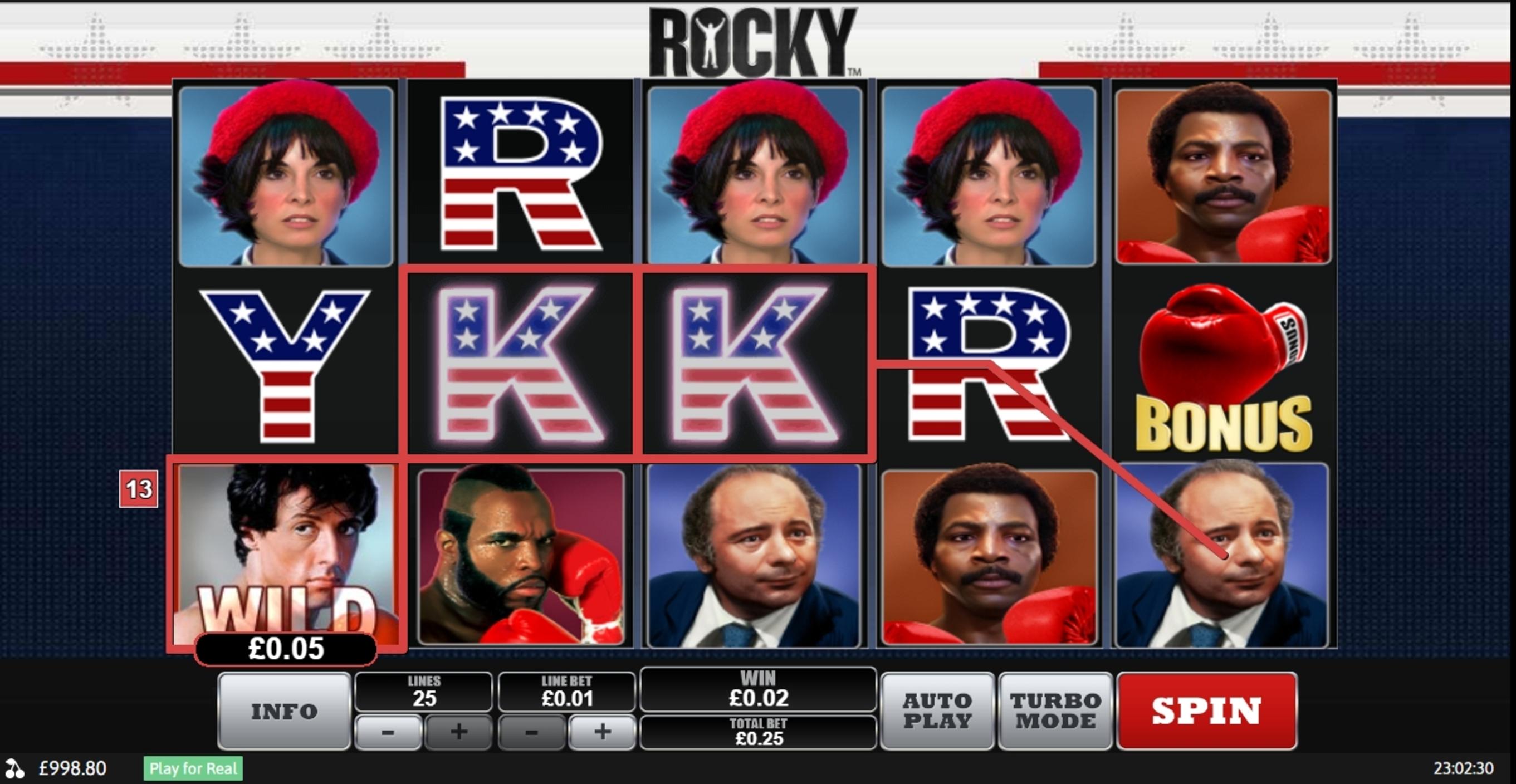 Rocky Slot Machine Online