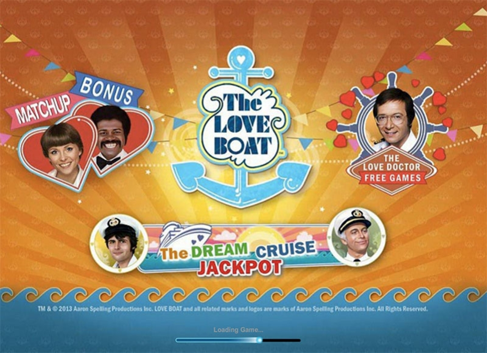 The Love Boat Online Slot Demo Game by Playtech