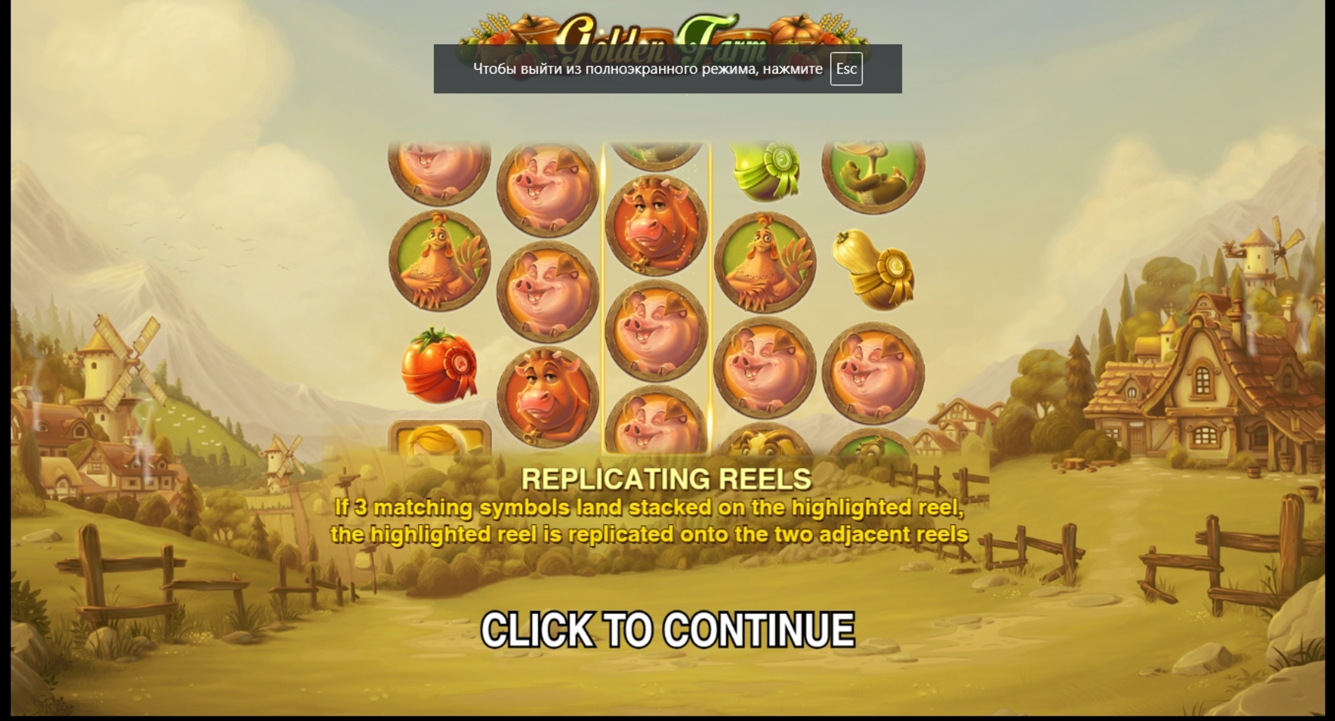 Play Golden Farm Free Casino Slot Game by Push Gaming