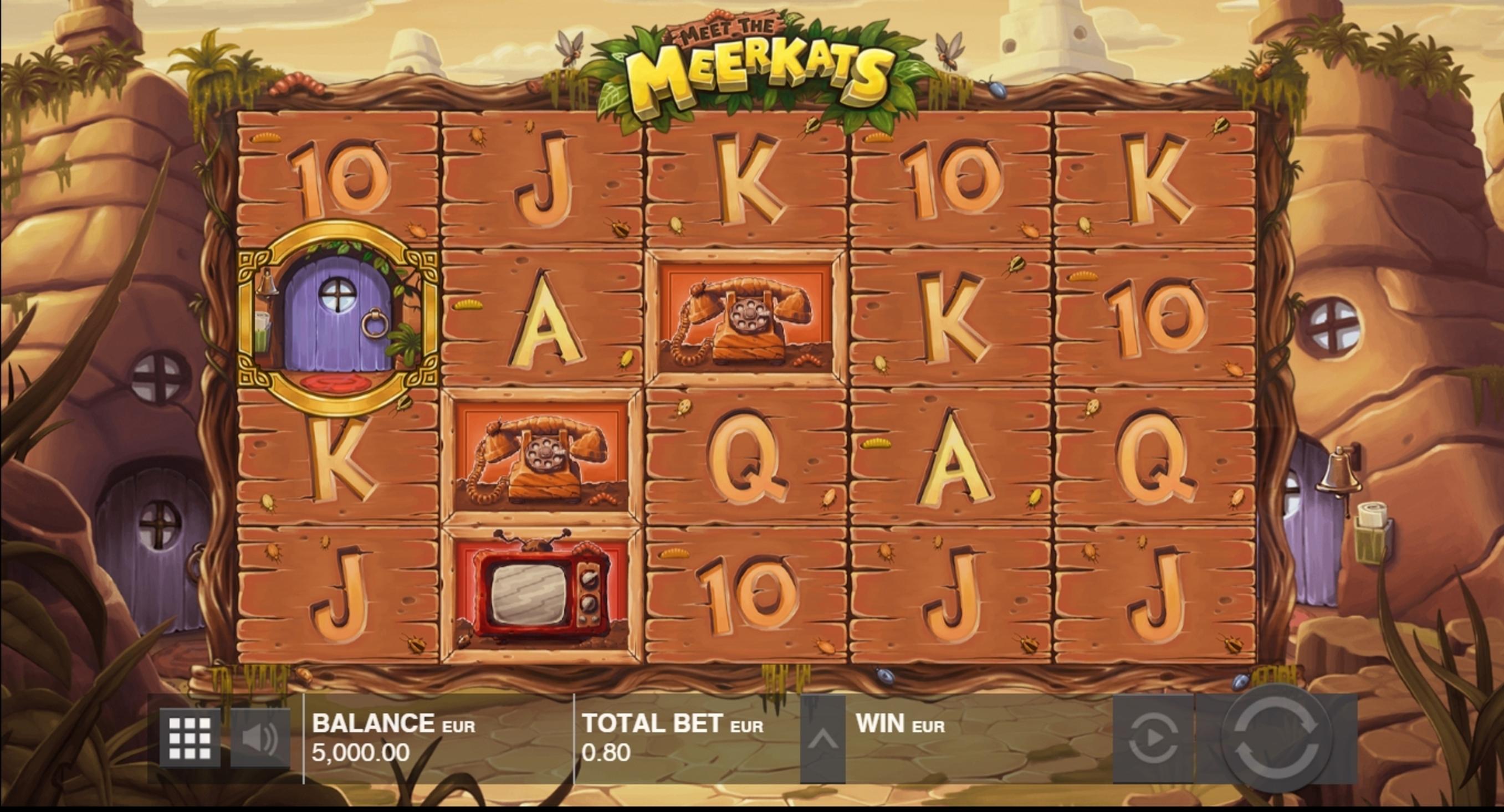 Meet The Meerkats Slot Machine