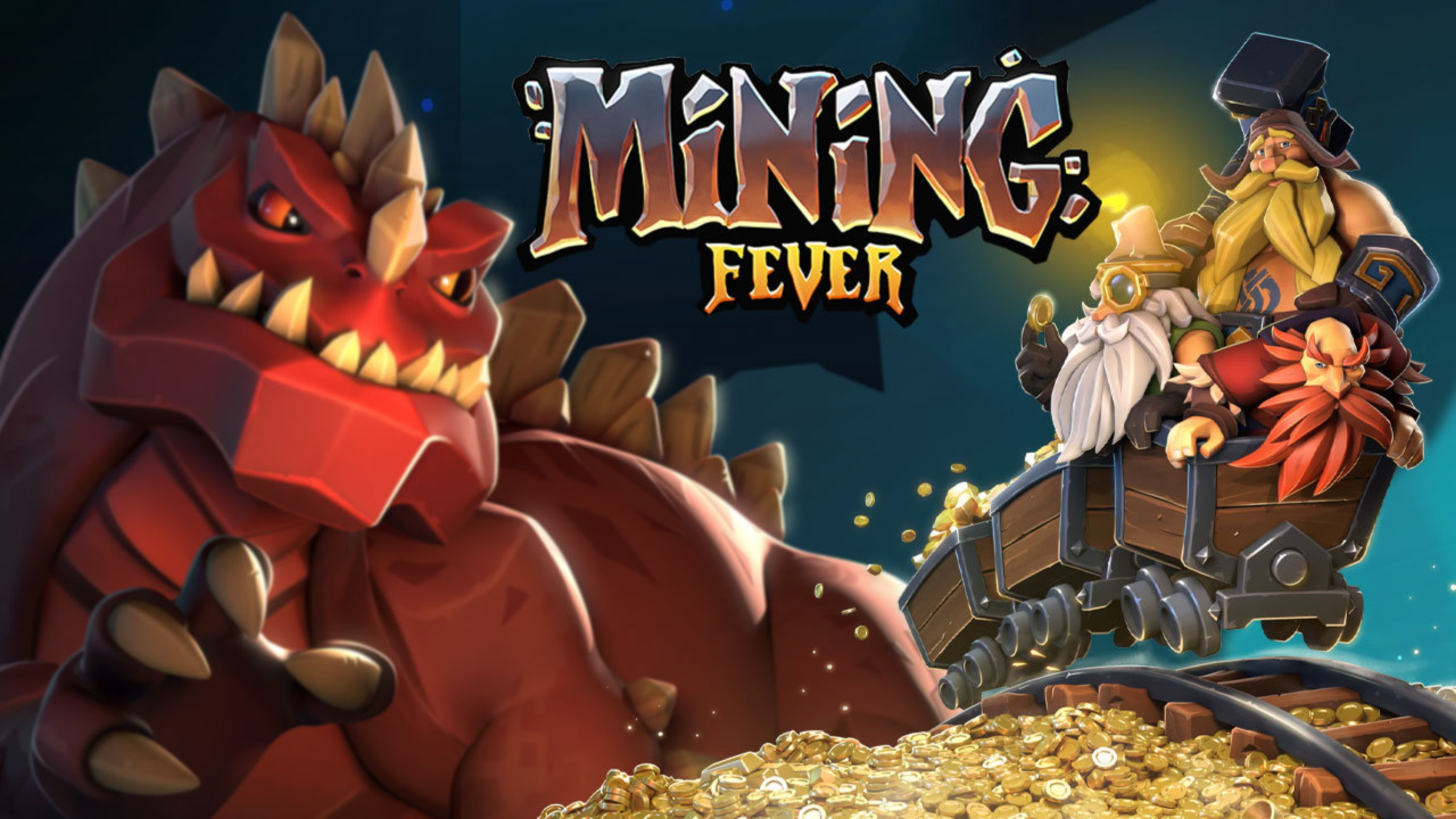 The Mining Fever Online Slot Demo Game by Rabcat