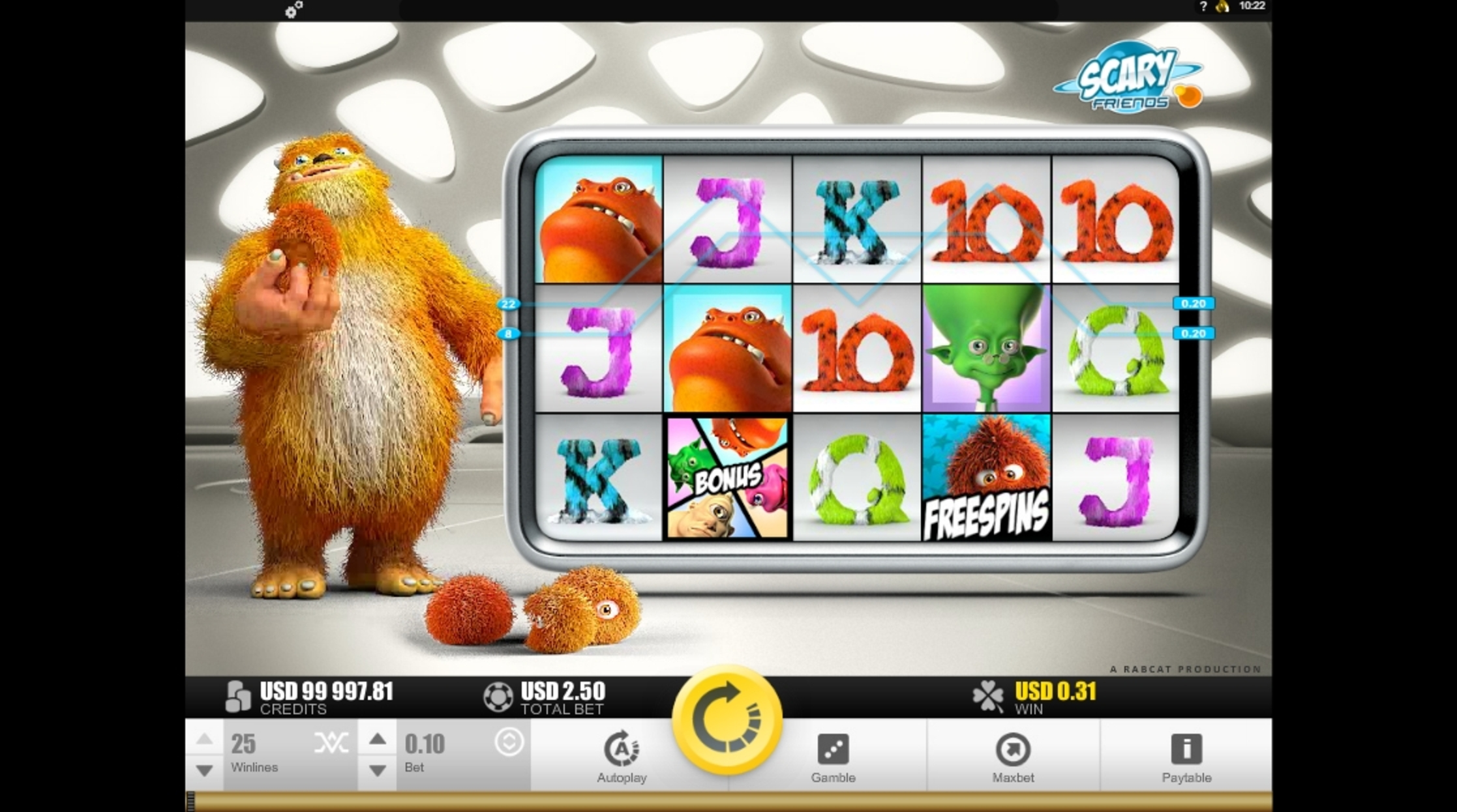 Win Money in Scary Friends Free Slot Game by Rabcat