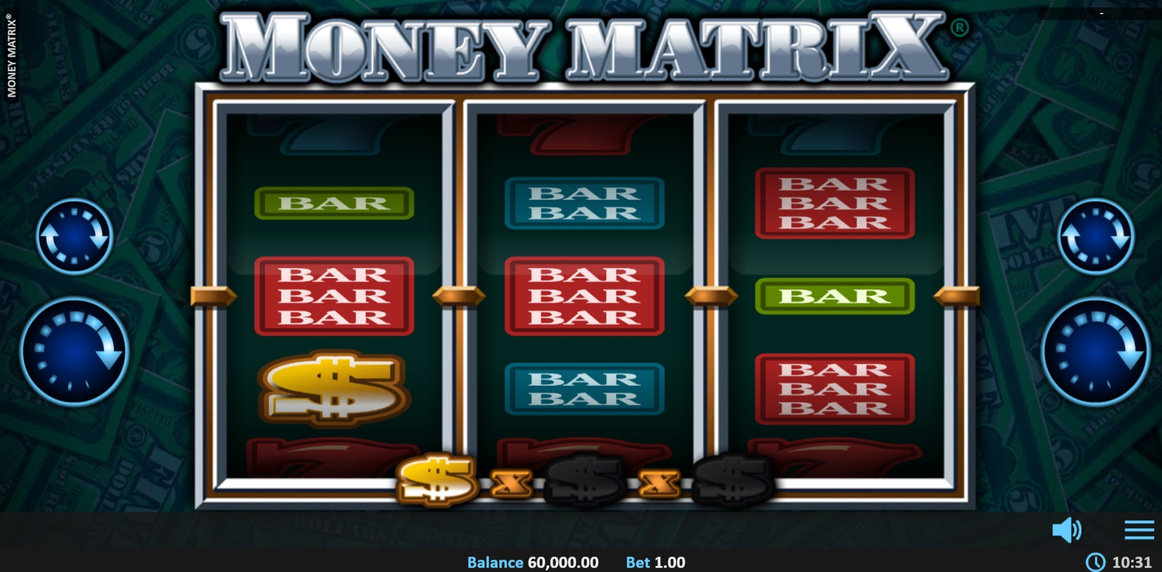 Reels in Money Matrix Slot Game by Realistic
