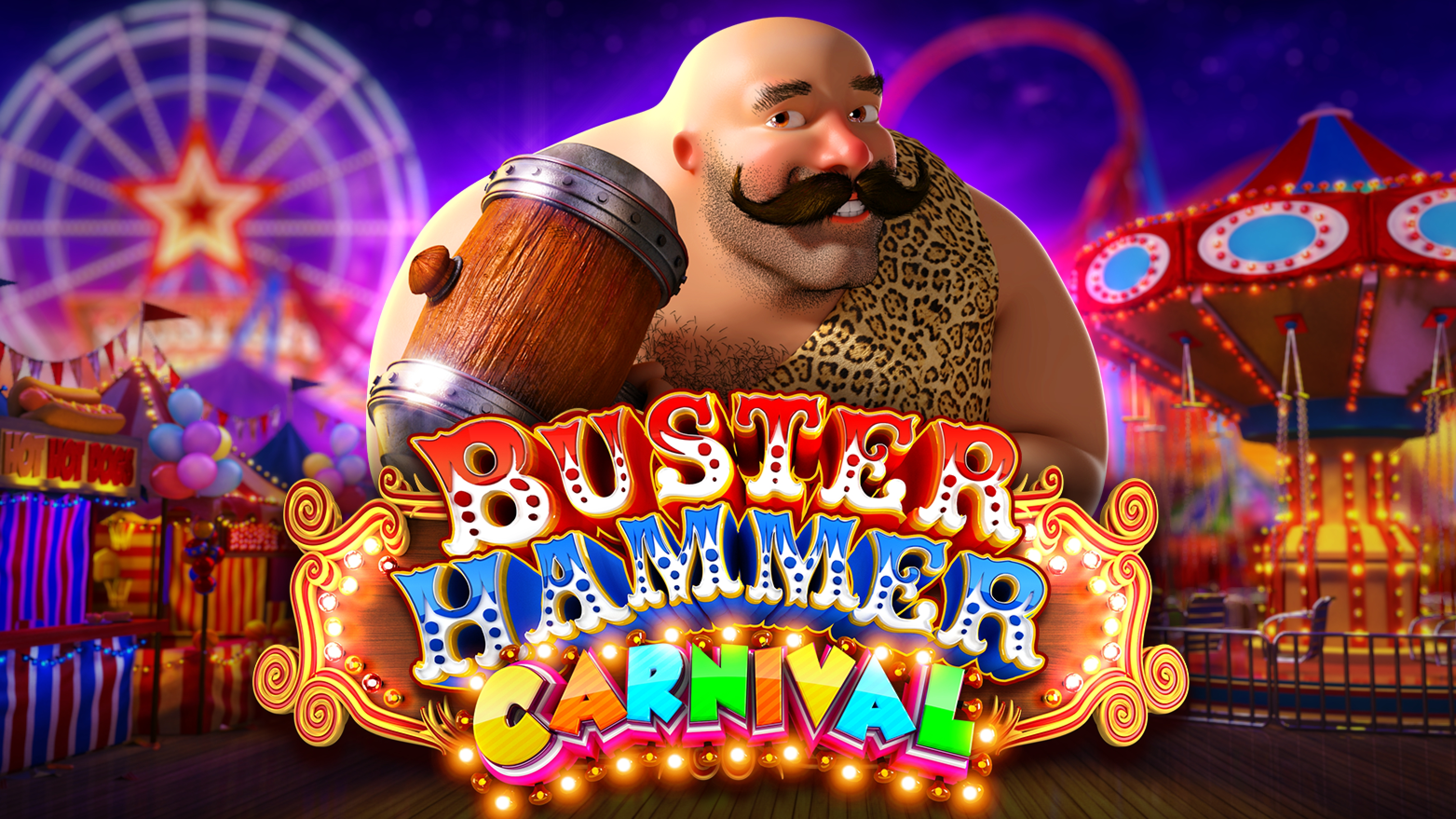 Reels in Buster Hammer Carnival Slot Game by Reel Play