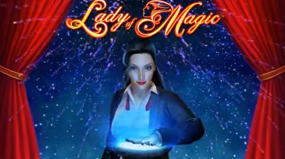 Reels in Lady of Magic Slot Game by Reel Time Gaming
