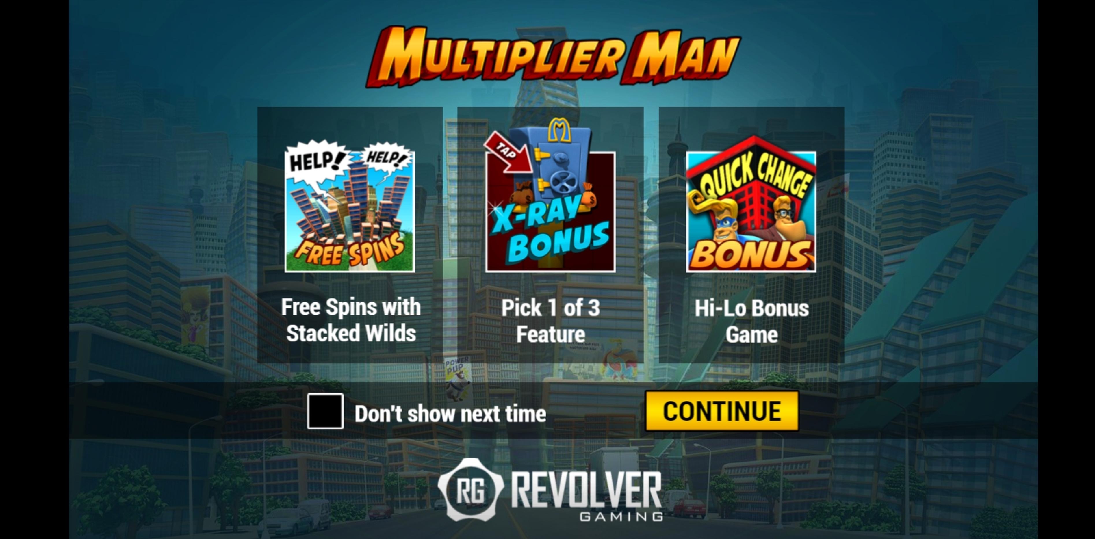 Multiplier Man Slot Machine