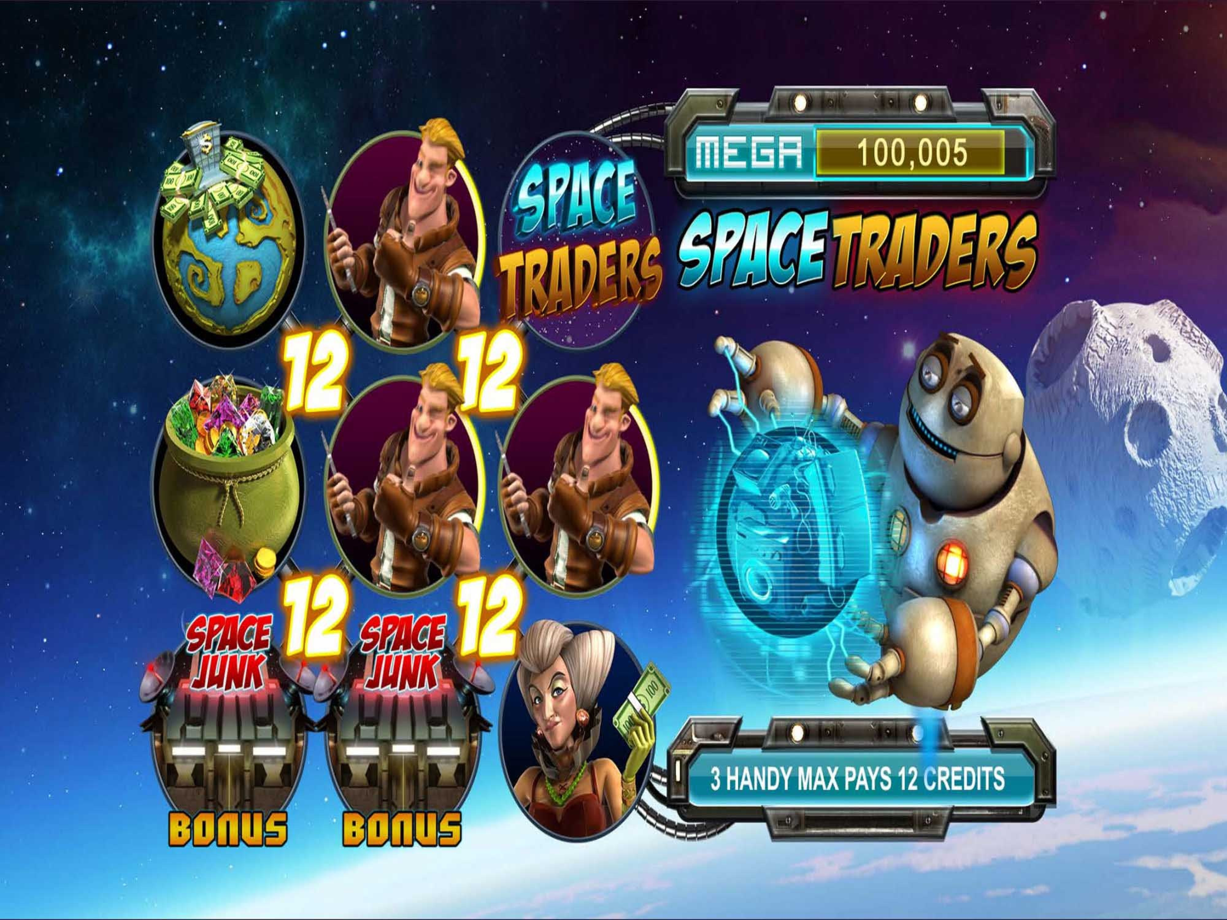 The Space Traders Online Slot Demo Game by Revolver Gaming