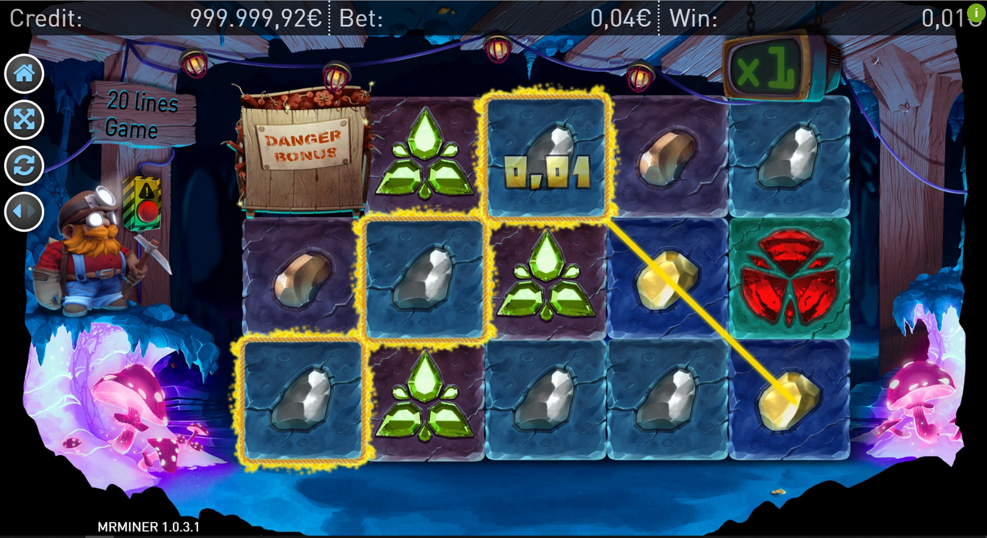 Win Money in Mr. Miner Free Slot Game by RFranco Group