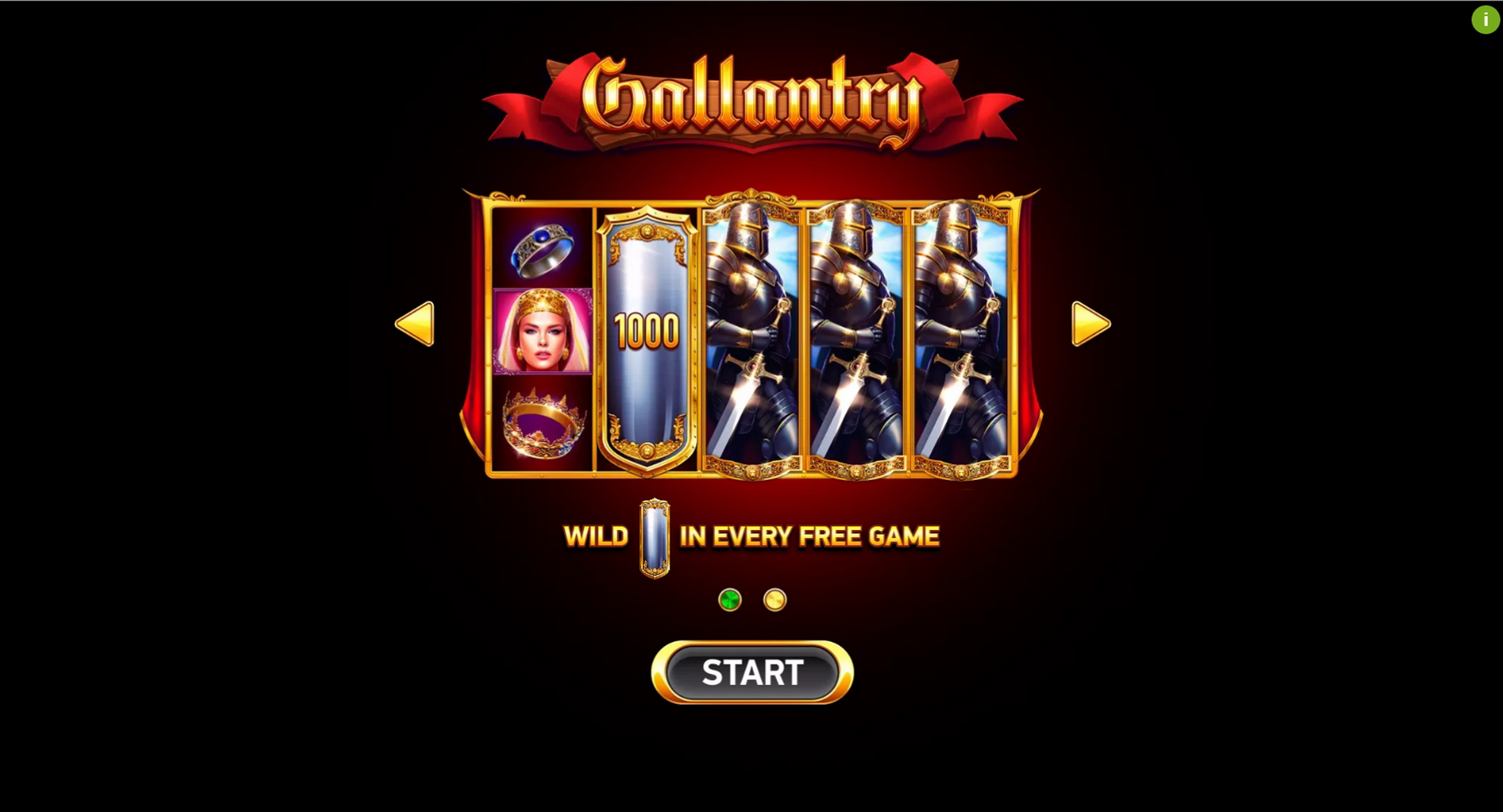 Play Gallantry Free Casino Slot Game by RubyPlay