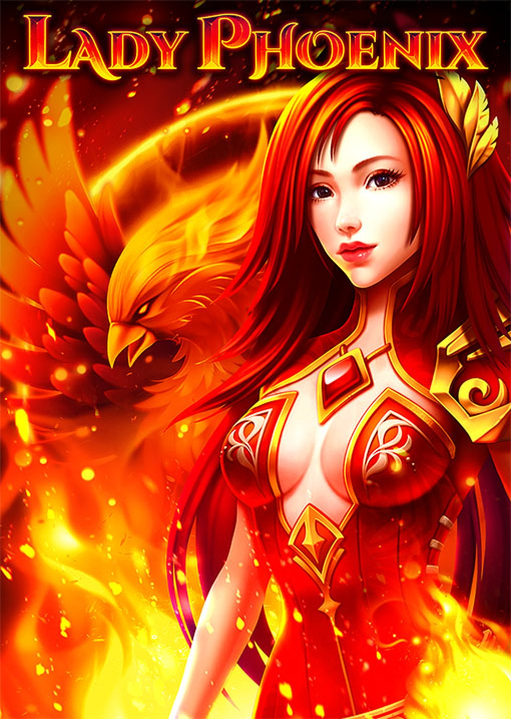 Lady Phoenix Online Slot Demo Game by RubyPlay