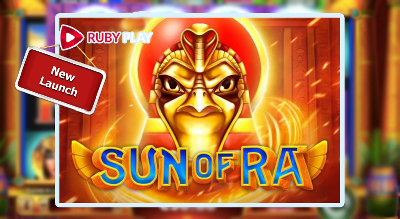 Sun of Ra Online Slot Demo Game by RubyPlay
