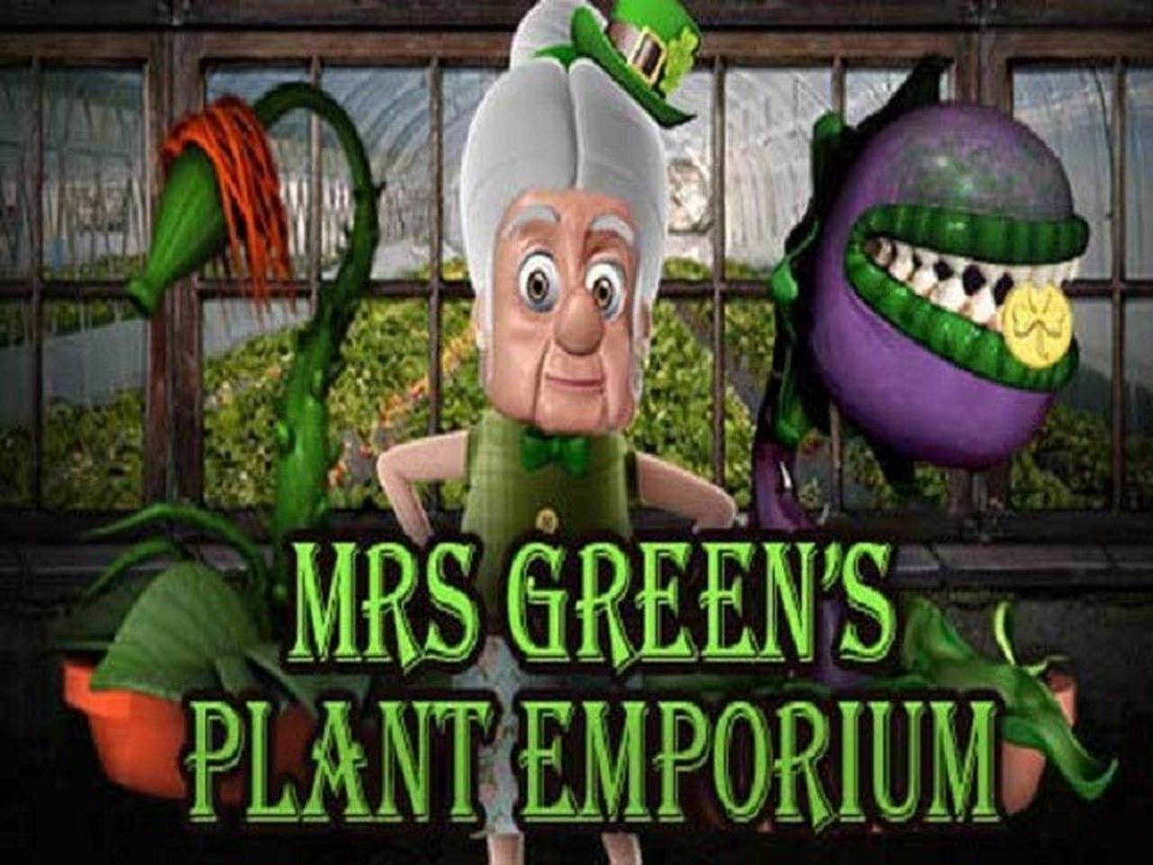 Mrs Green's Plant Emporium Online Slot Demo Game by saucify