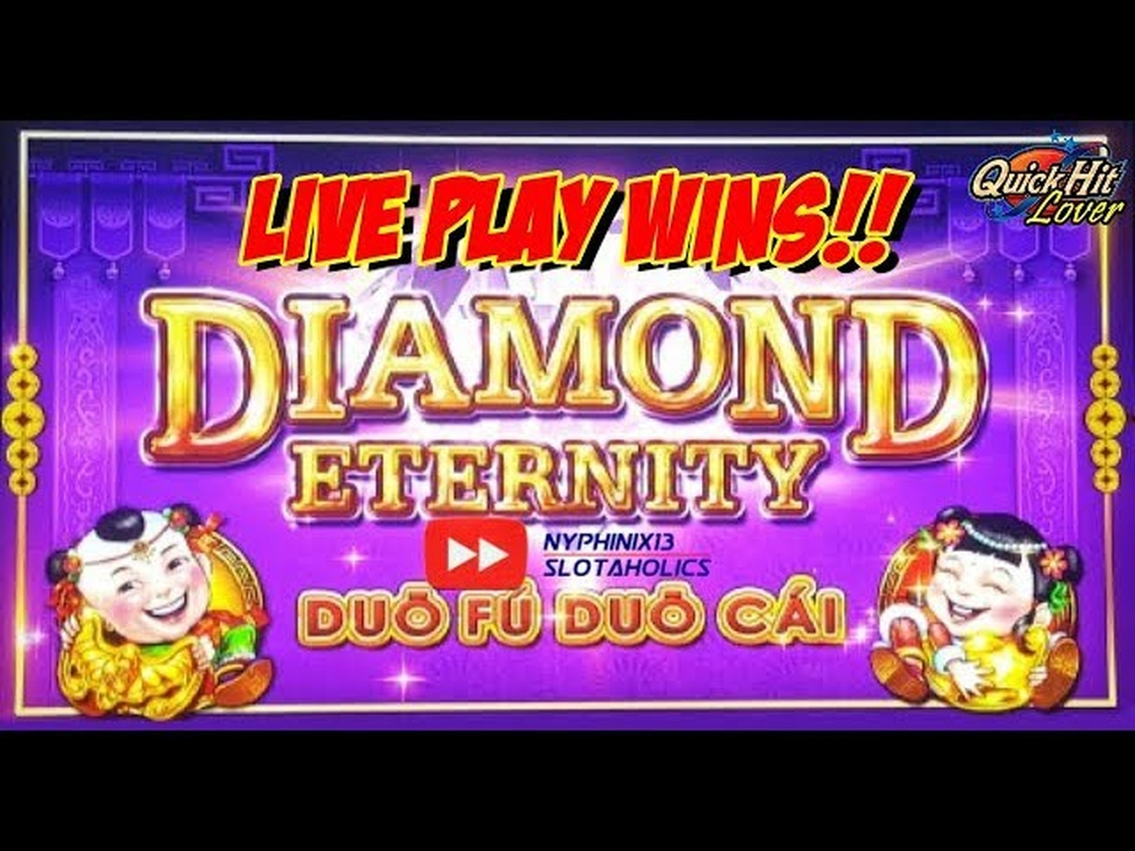 The Diamond Eternity Online Slot Demo Game by SG Interactive