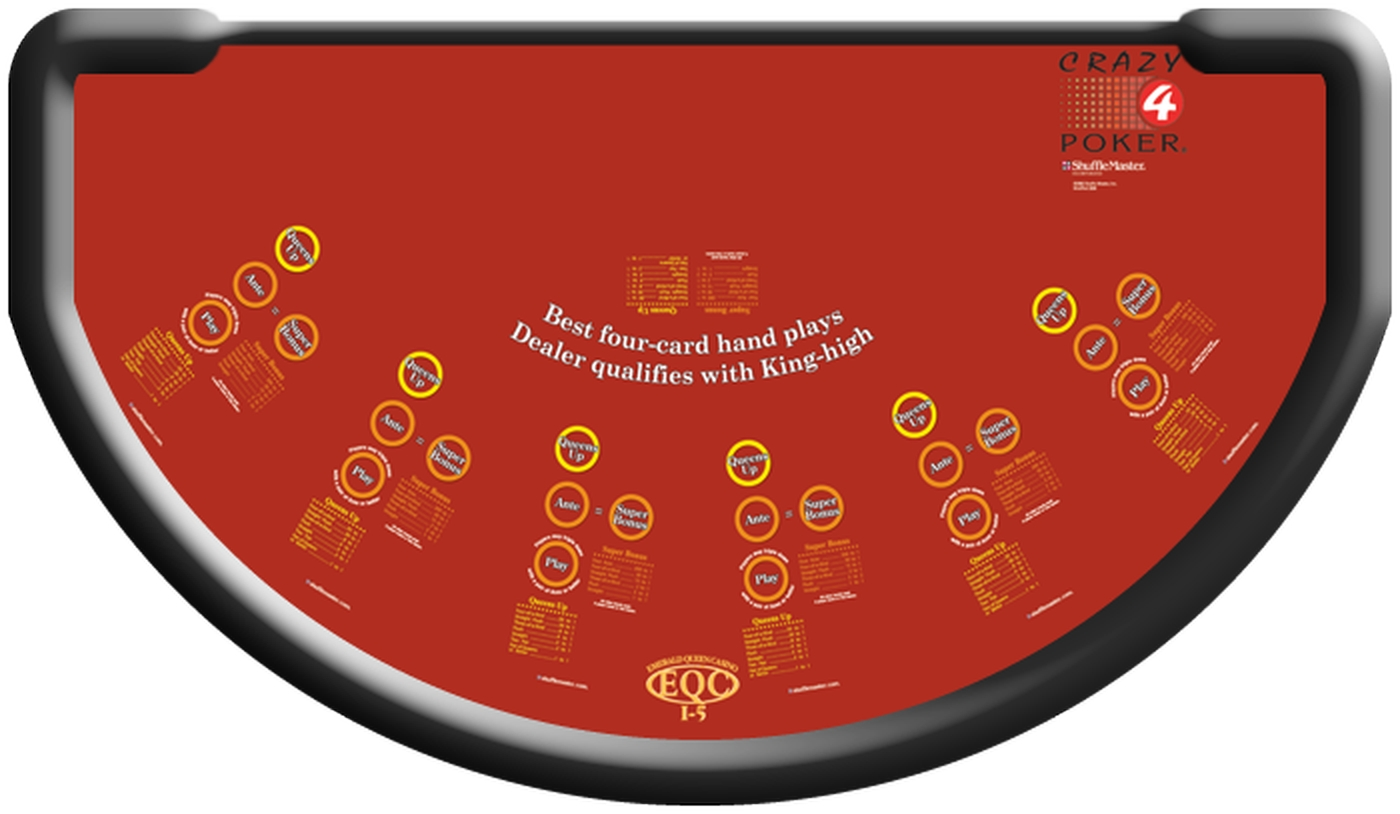 Crazy 4 Poker (Shuffle Master) Online Slot Demo Game by Shuffle Master