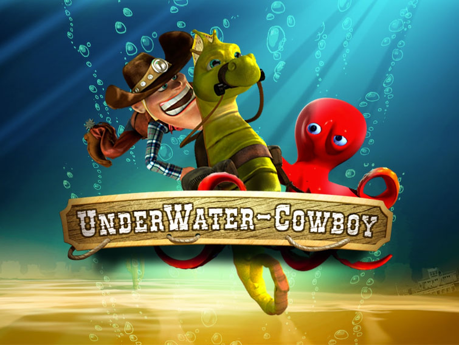 The Underwater Cowboy Online Slot Demo Game by SkillOnNet