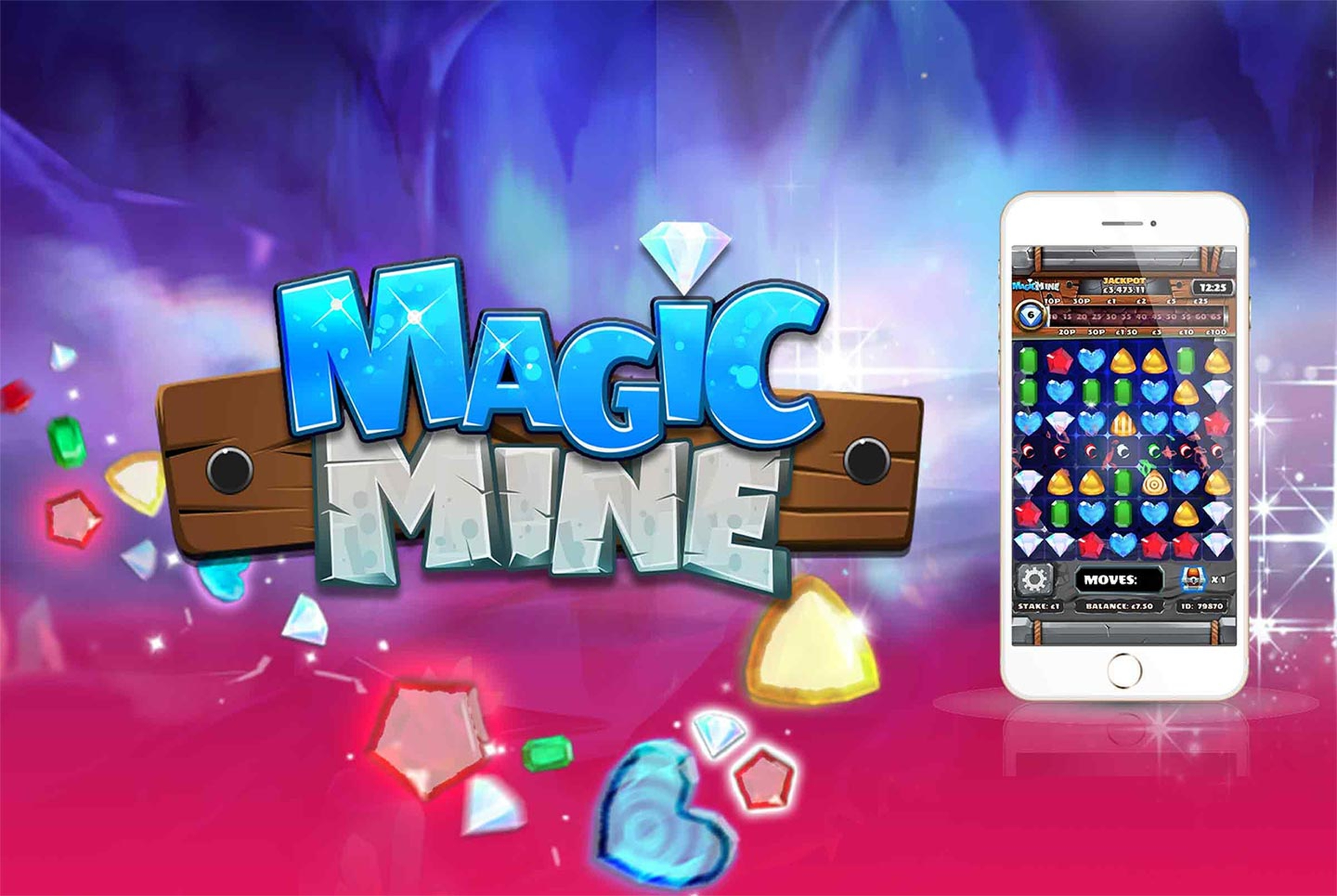 Magic Mine Online Slot Demo Game by Slingo