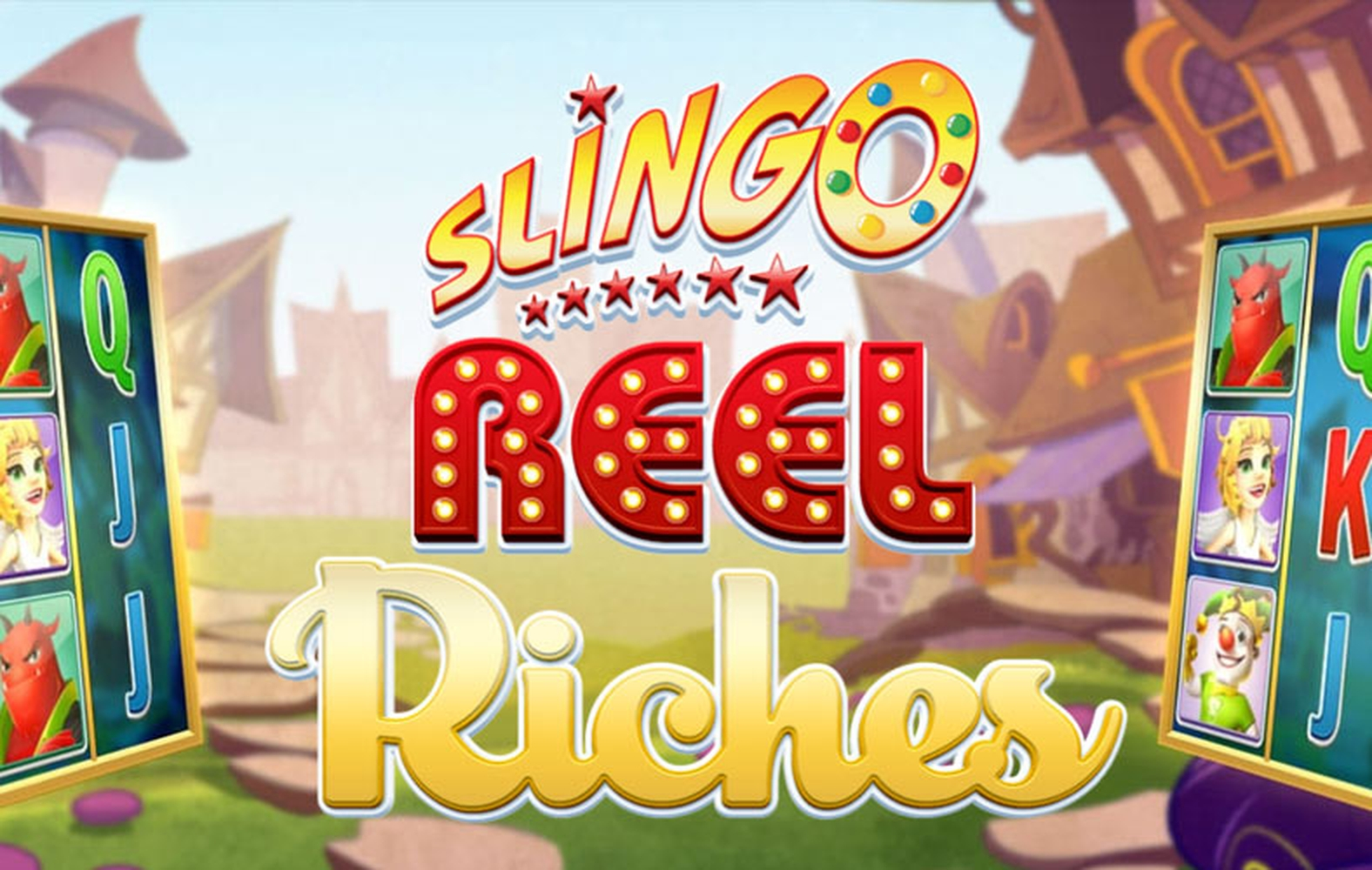 Reels in Slingo Reel Riches Slot Game by Slingo