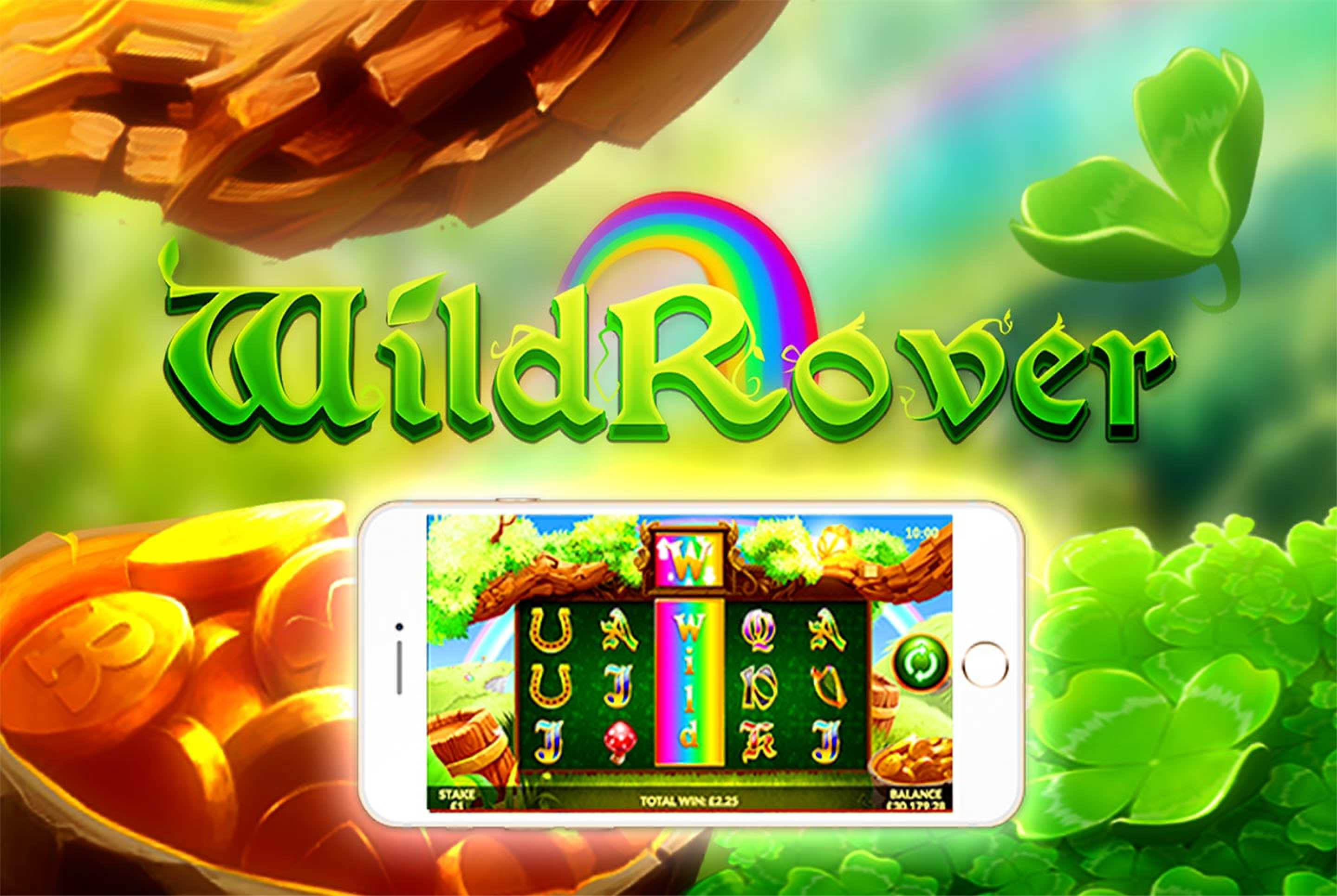 Wild Rover Online Slot Demo Game by Slingo